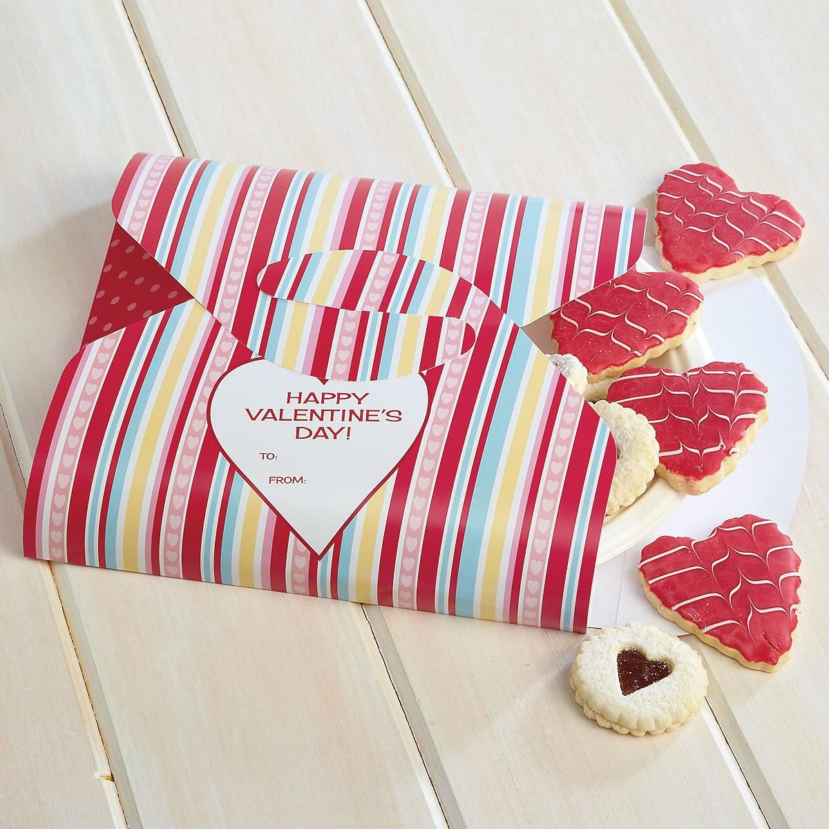 Valentine Cookie Boxes