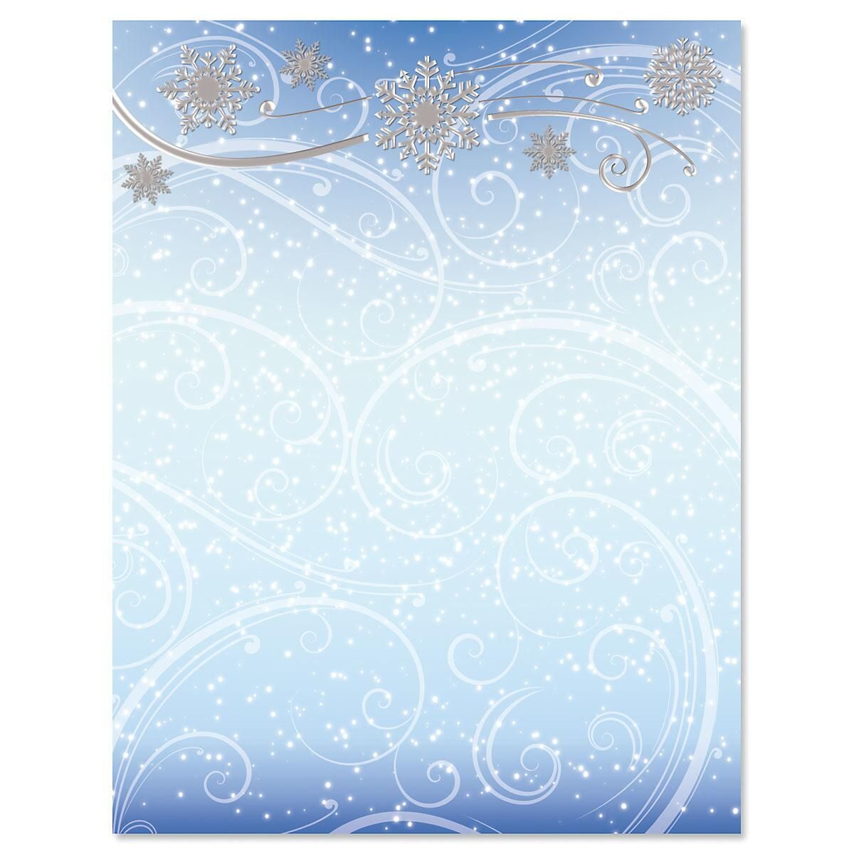 Winter Wonder Deluxe Christmas Letter Papers
