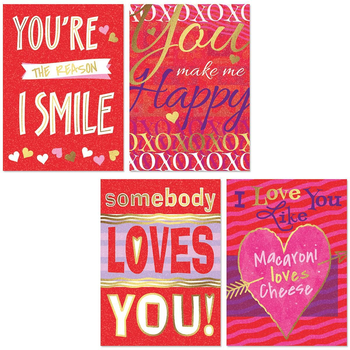 Deluxe Graphic Valentine Cards