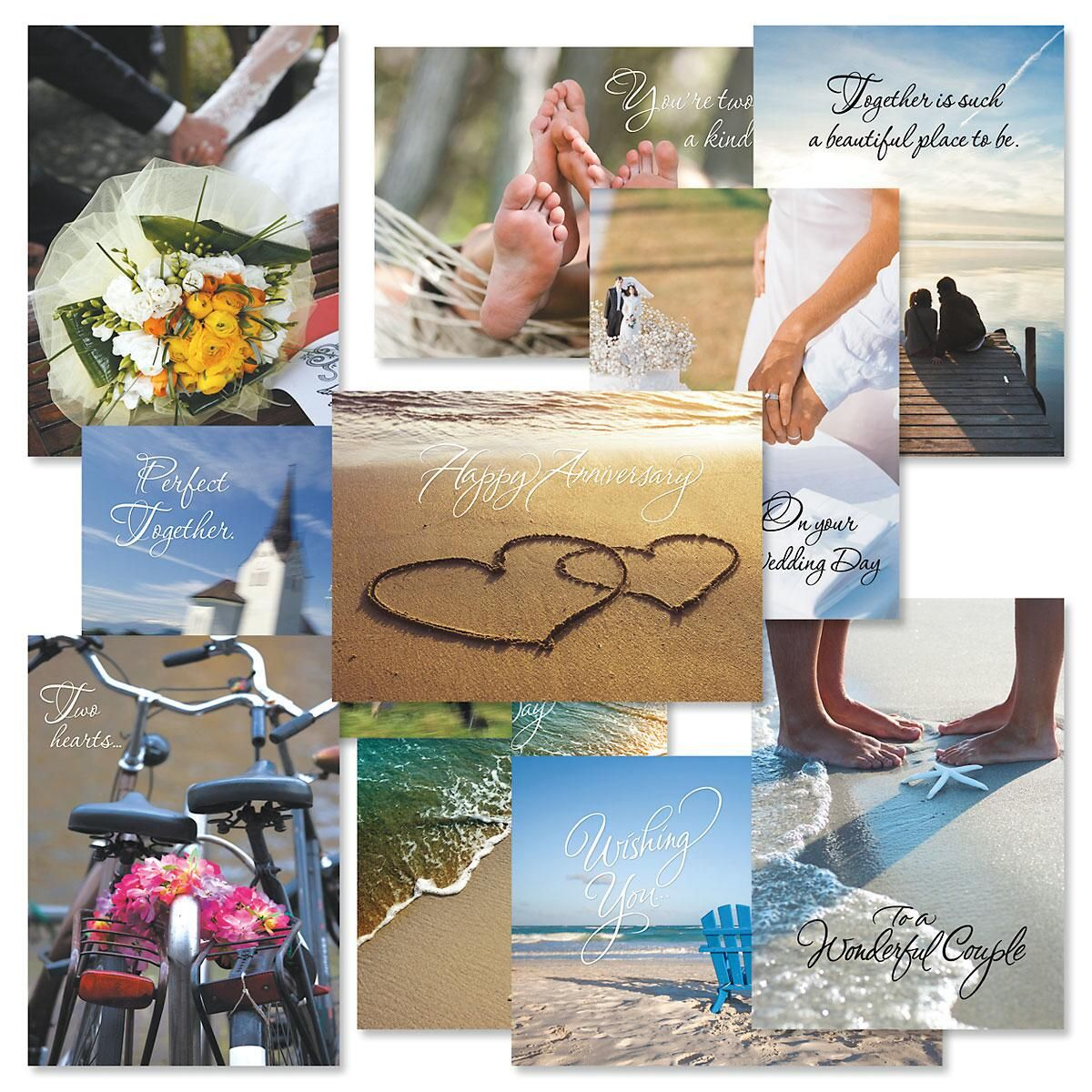 Wedding and Anniversary Cards Value Pack