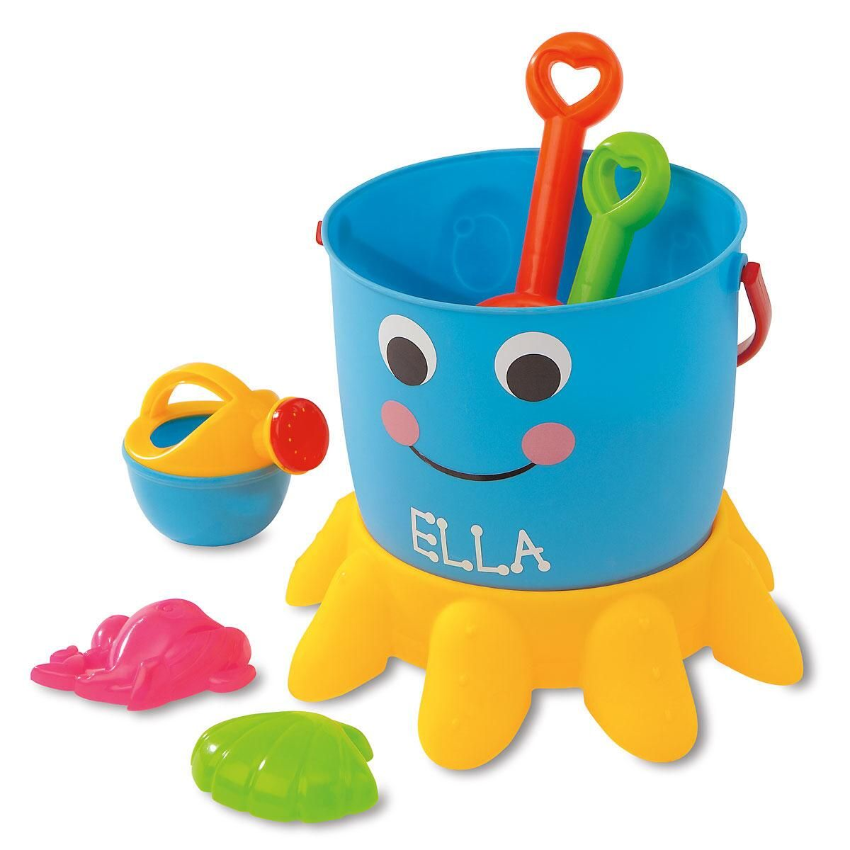 Personalized Octopus Bucket