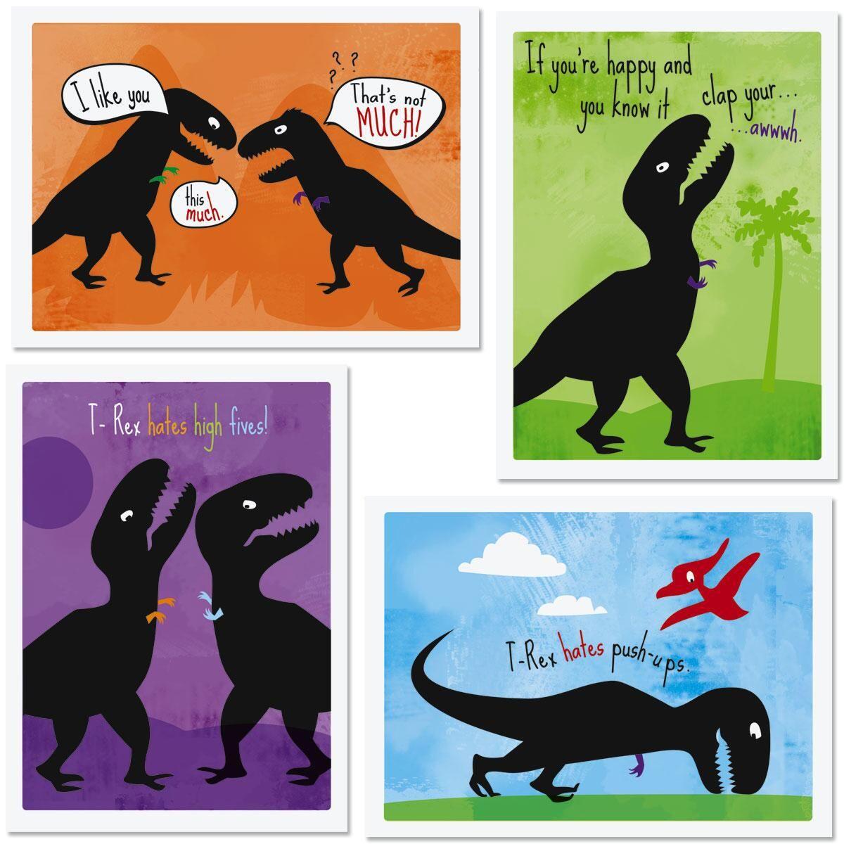 T-Rex Kids Valentines