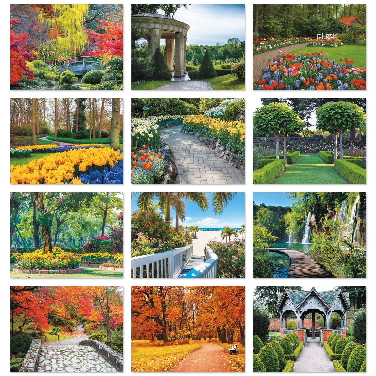 2018 garden path wall calendars current catalog for Gardening 2018 calendar