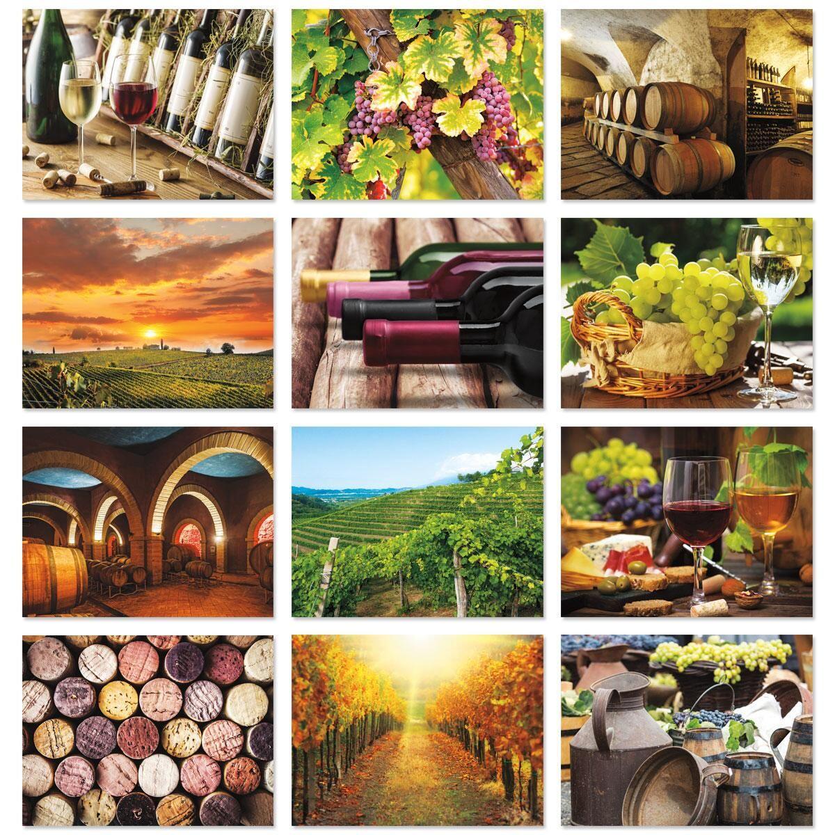 2018 Wine Lovers Wall Calendar
