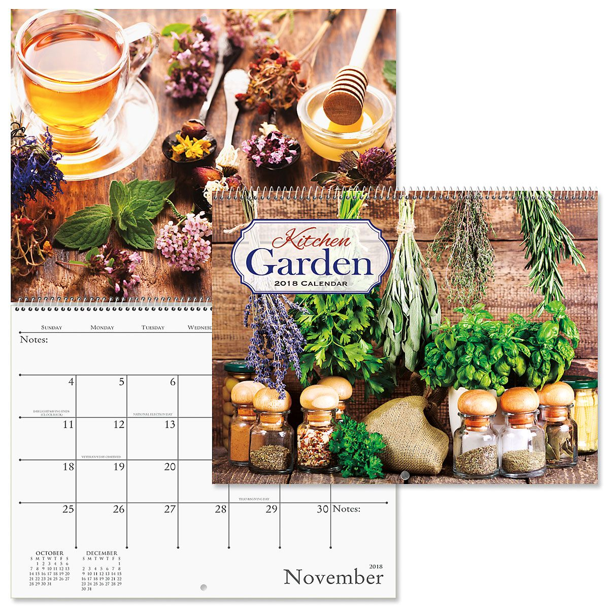 2018 Kitchen Garden Wall Calendar