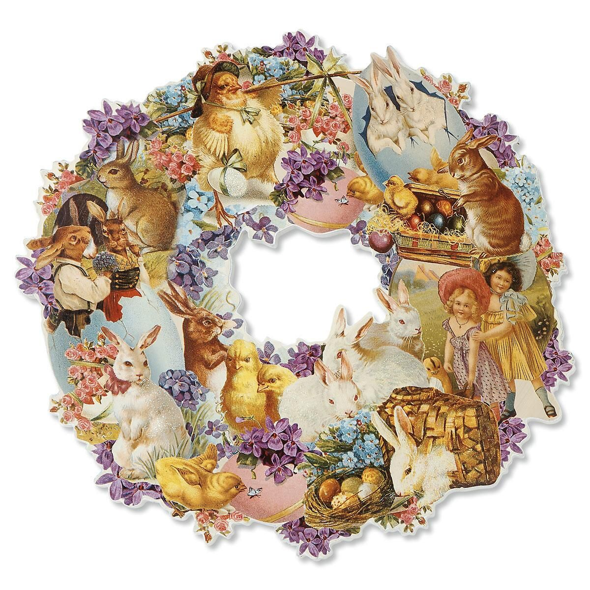 Easter Die Cut Wreath
