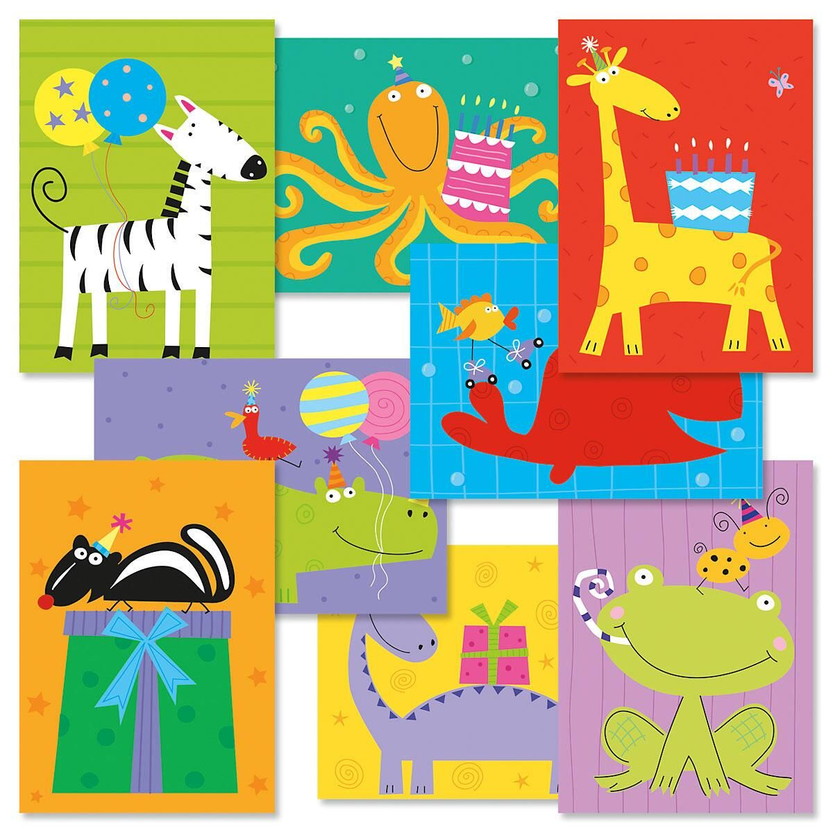 Kids Birthday Cards Value Pack