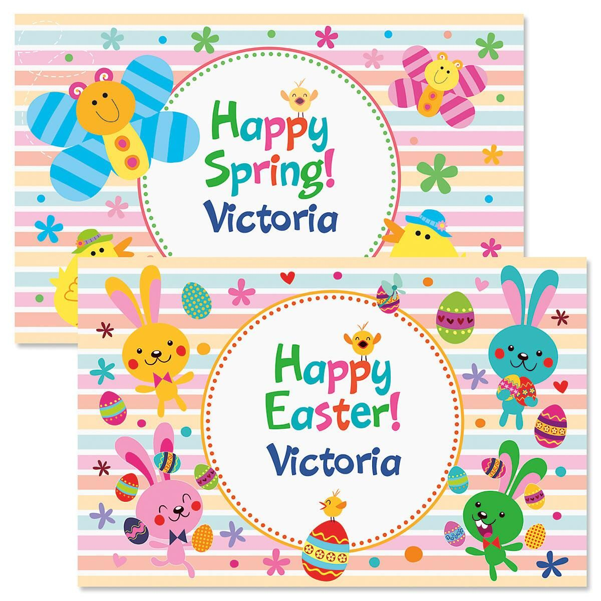 Personalized Easter Kids' Placemats