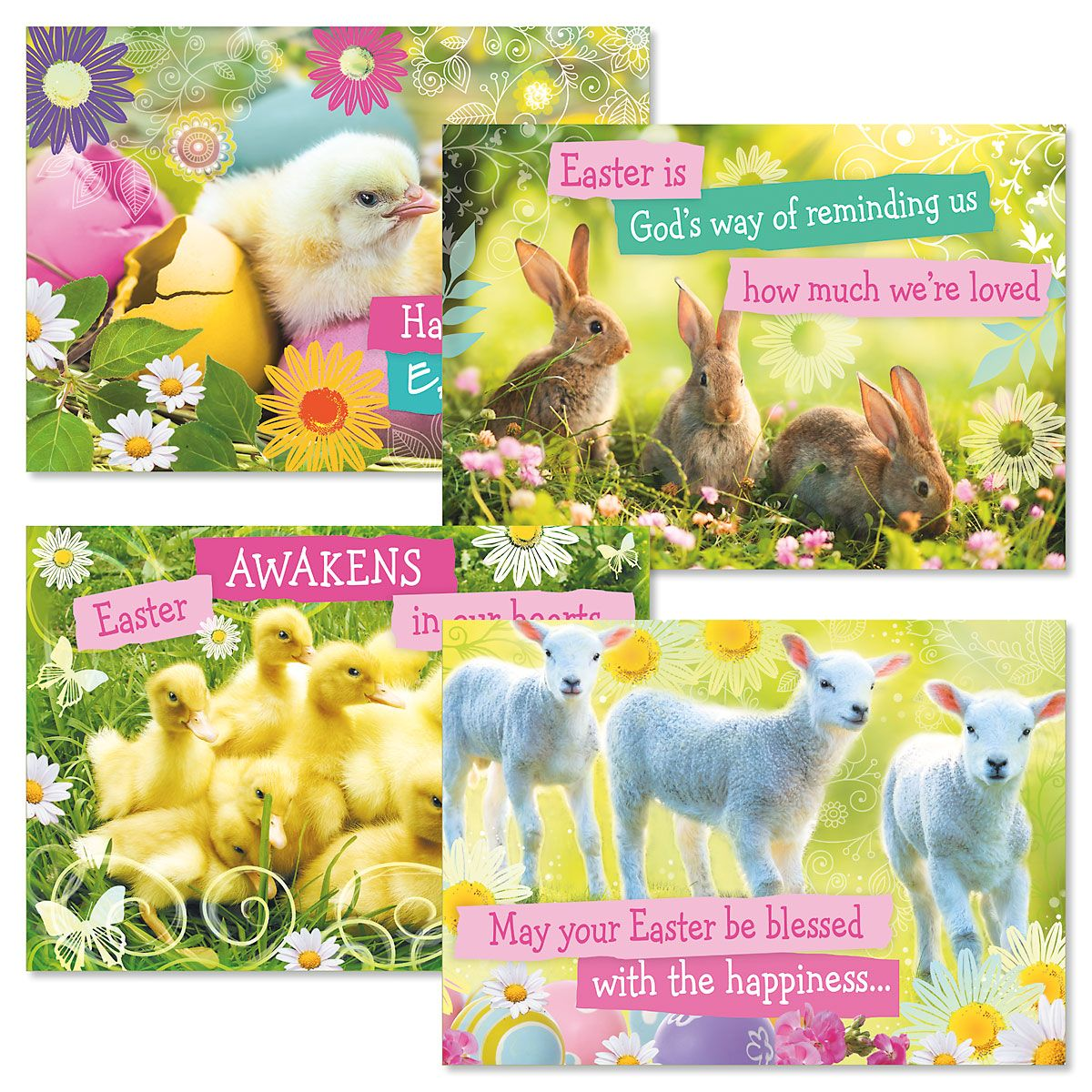 Easter Arrivals Faith Cards