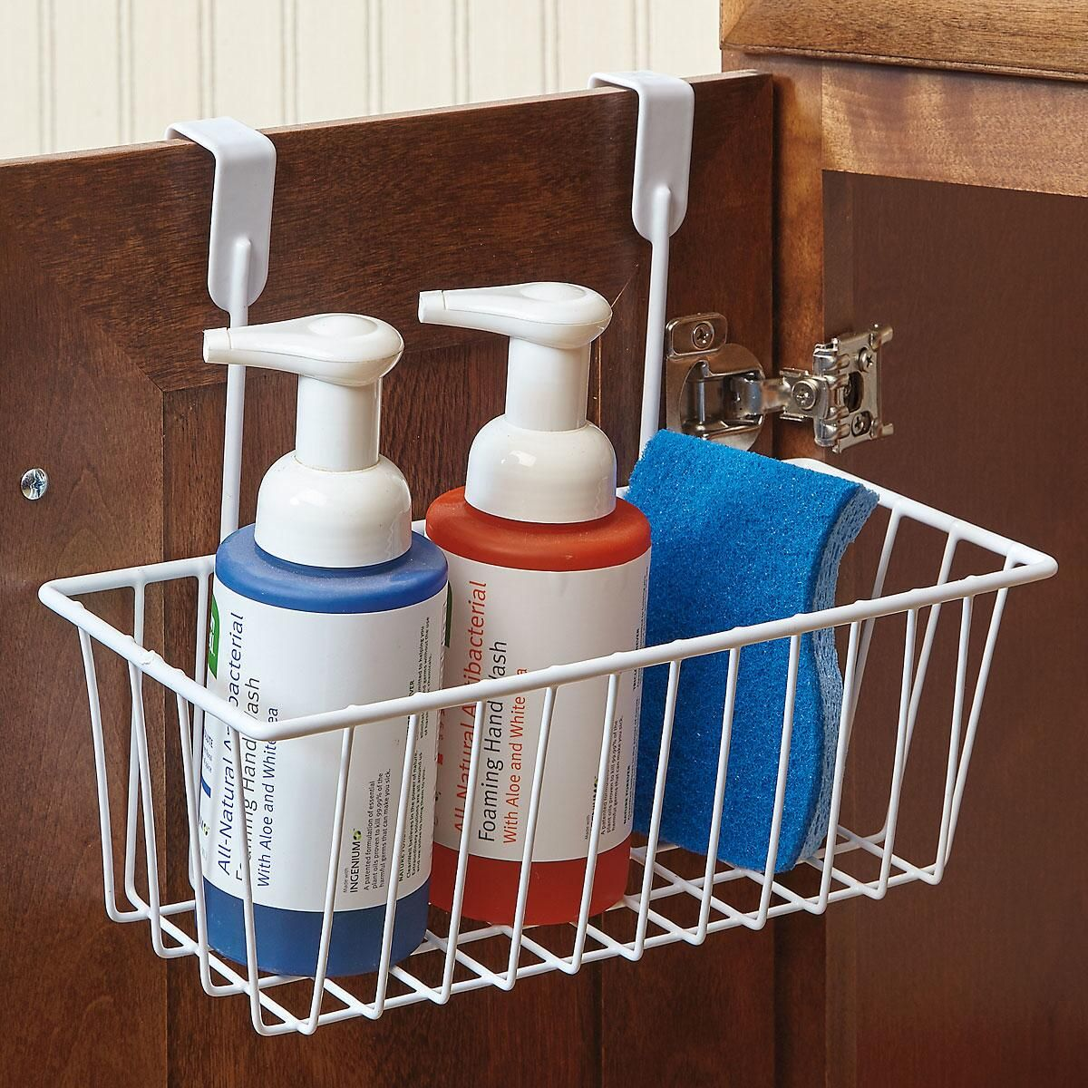 Baskets Above Kitchen Cabinets: Kitchen Cabinet Basket