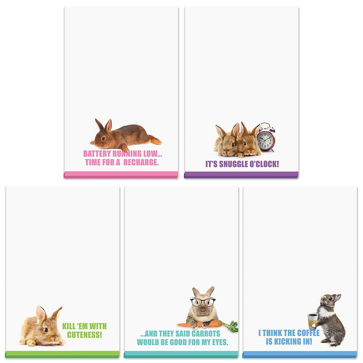 Funny Bunny Personalized Notepads