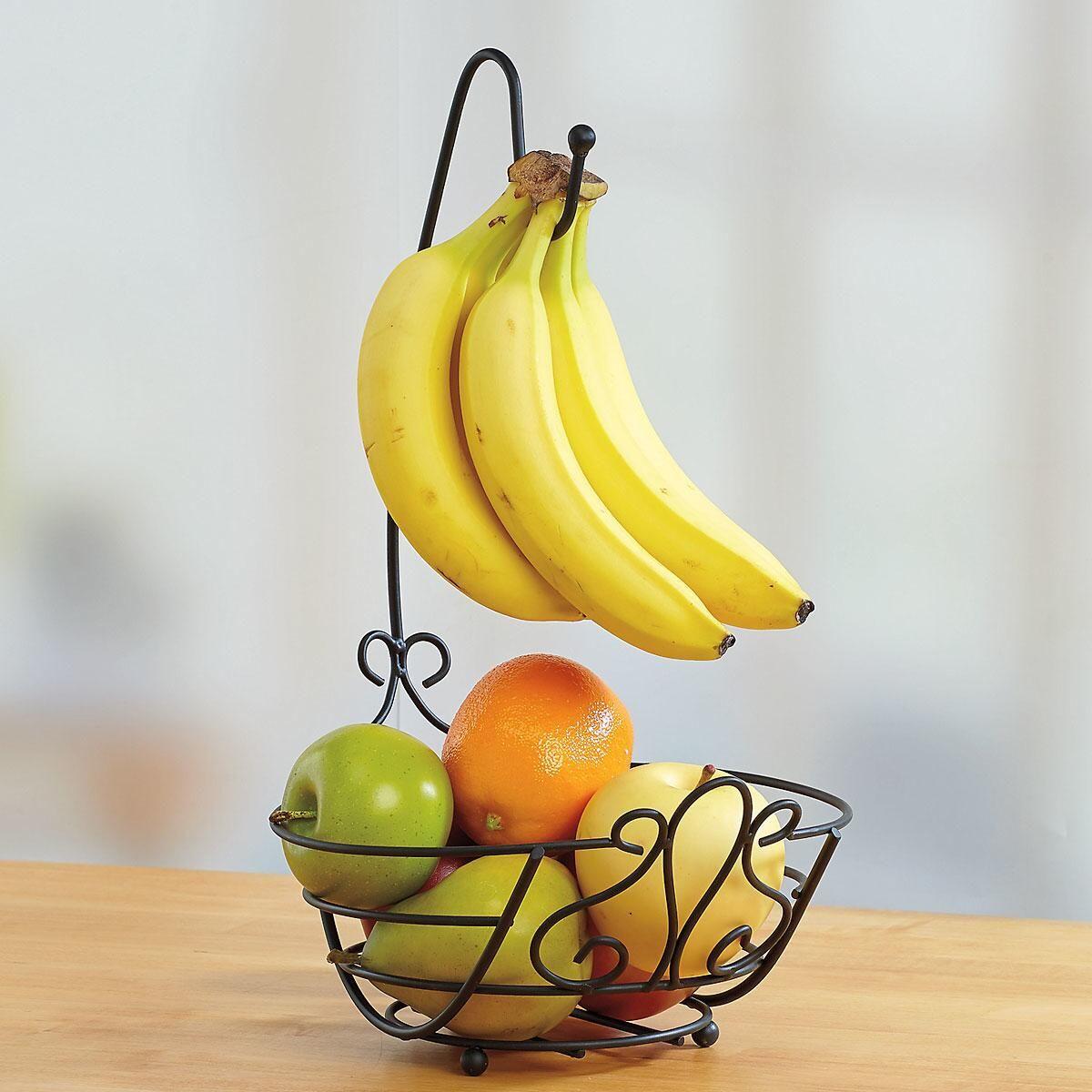 Black Pattern Banana Tree