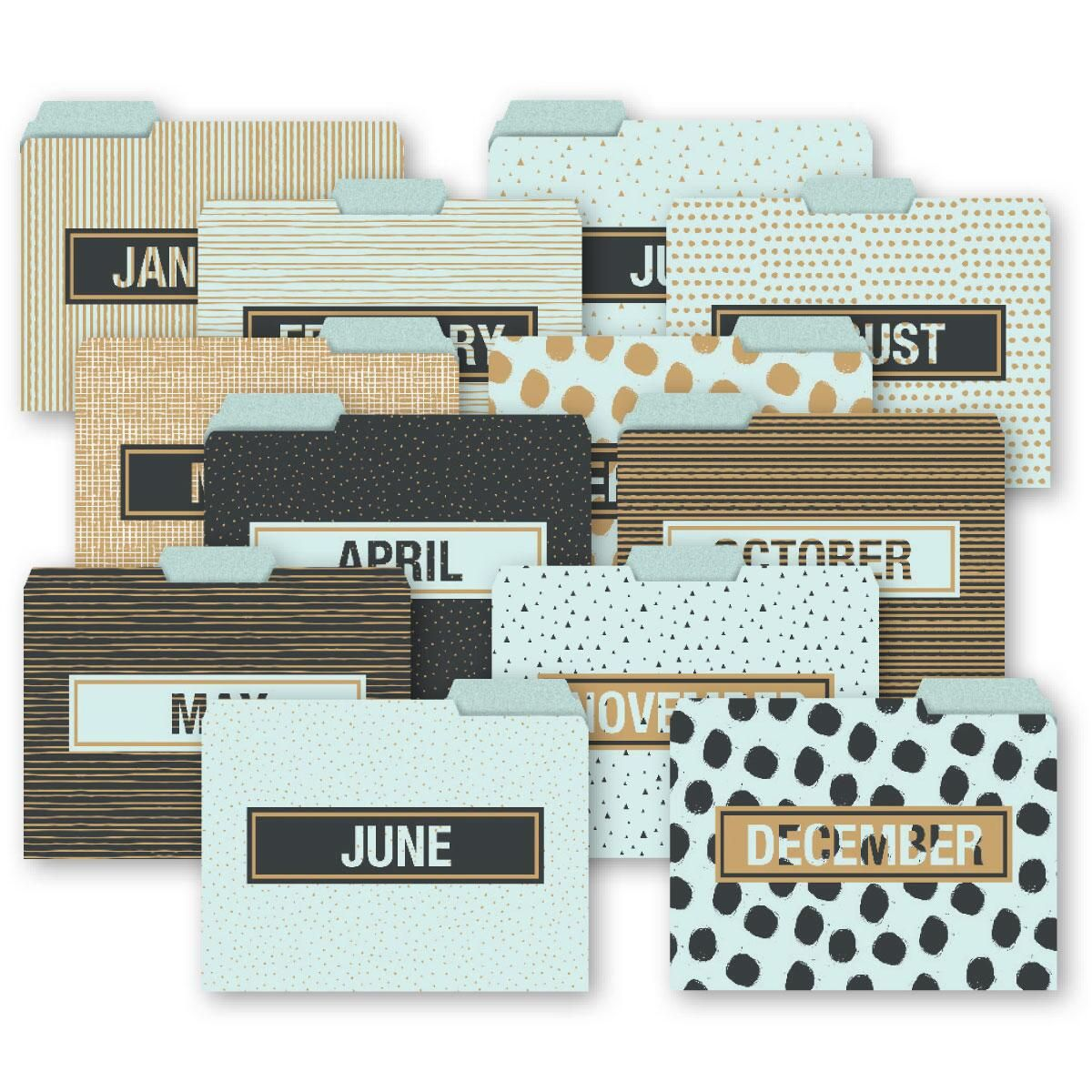 Months of the Year File Folders