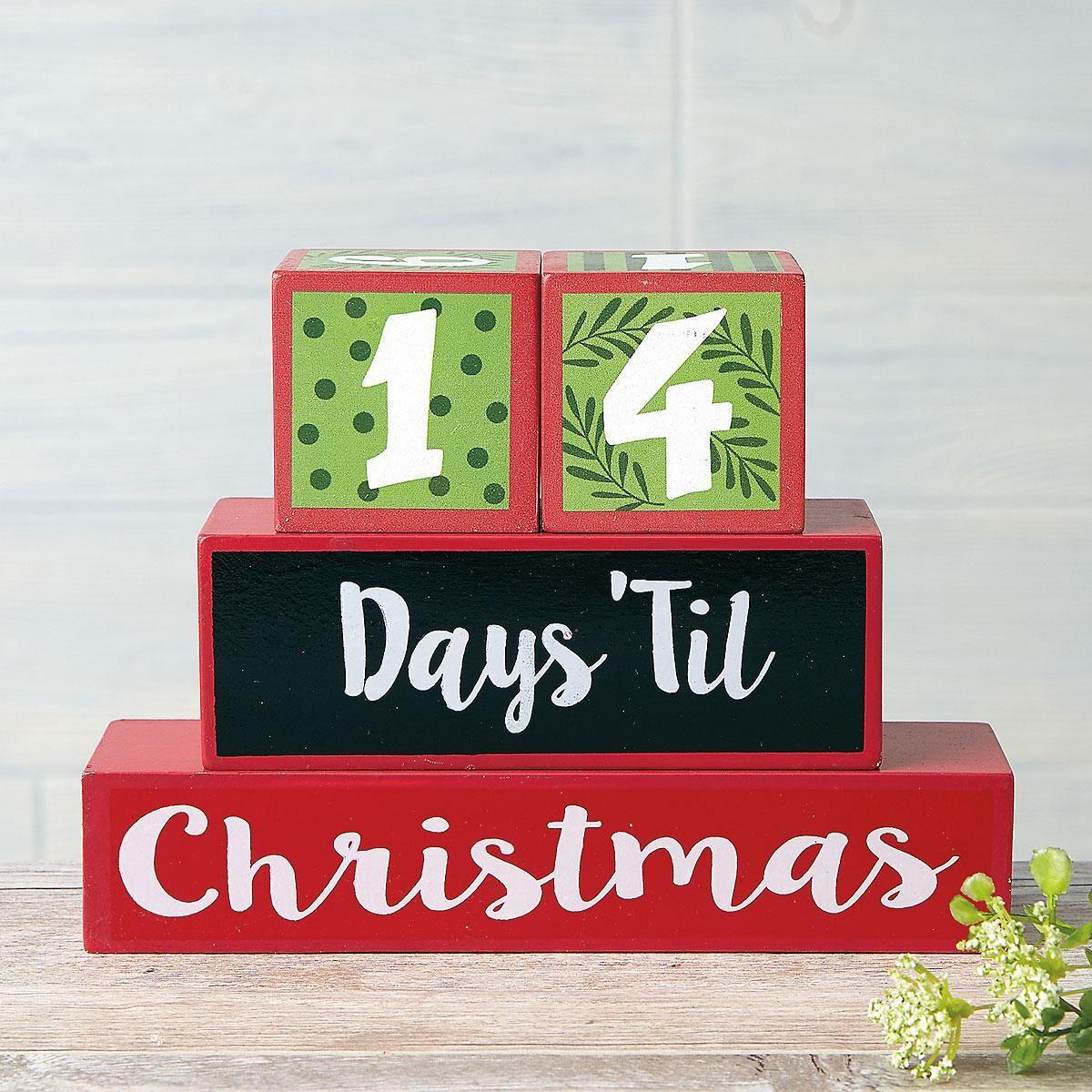 Countdown to Christmas Blocks