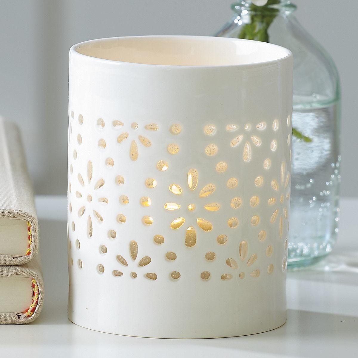Cutout Pattern Tealight Holder