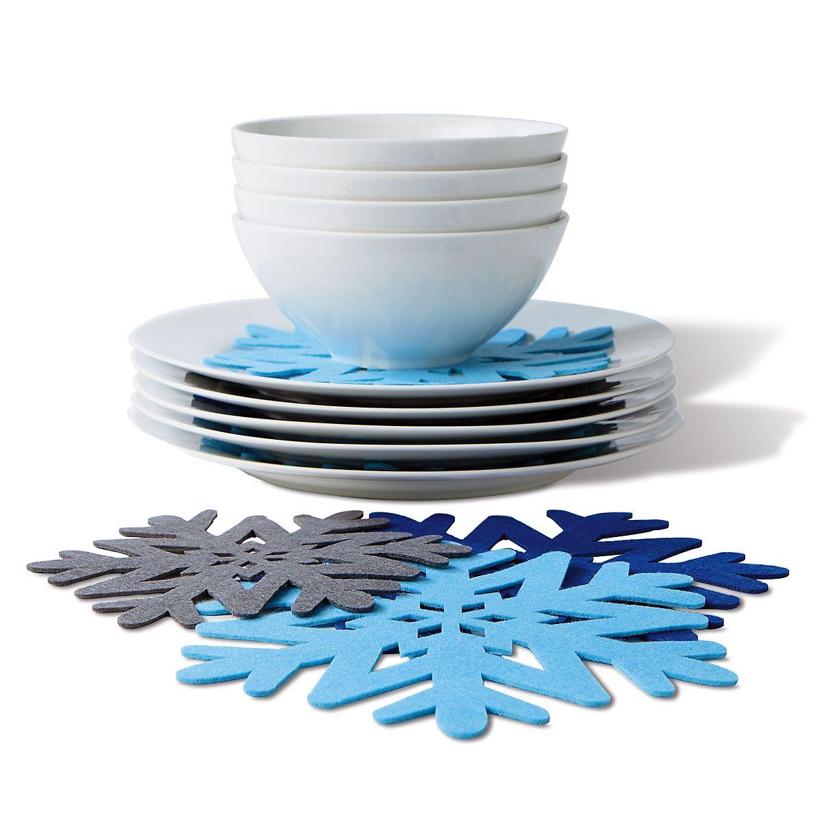 Snowflake Plate Protectors