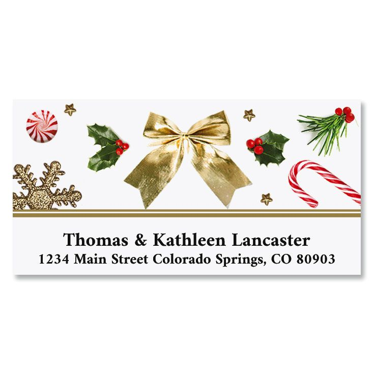 Everything Jolly Deluxe Address Labels