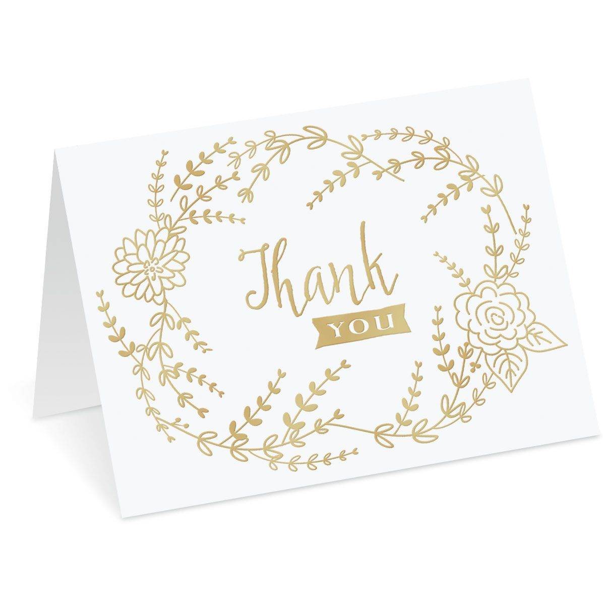 Deluxe Thank You Note Cards
