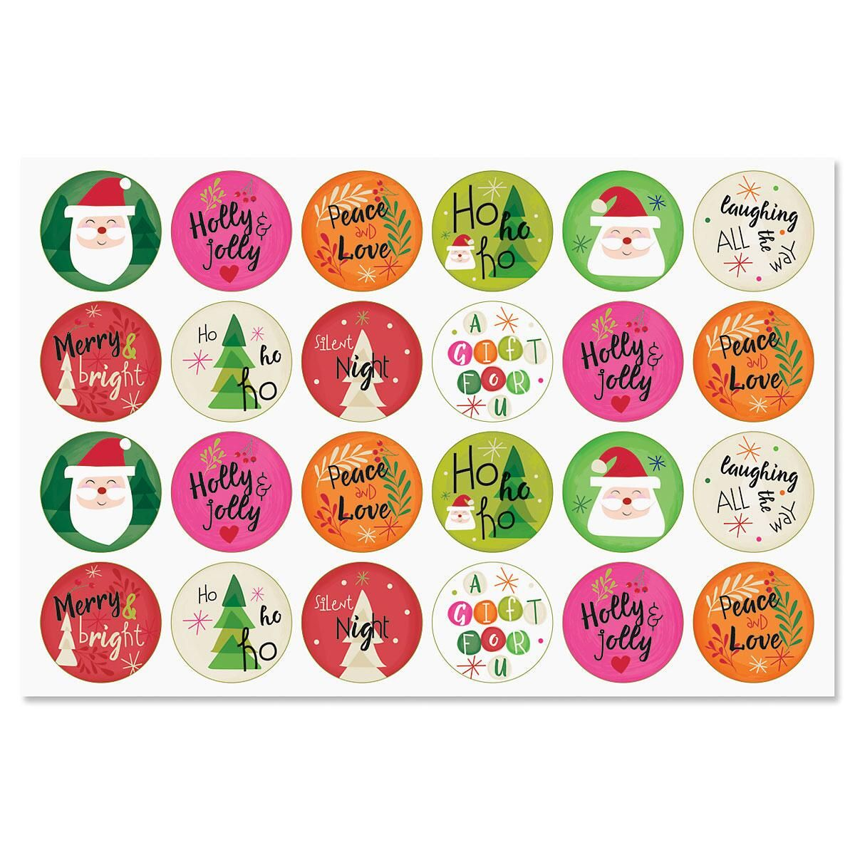 Christmas Icon Seals