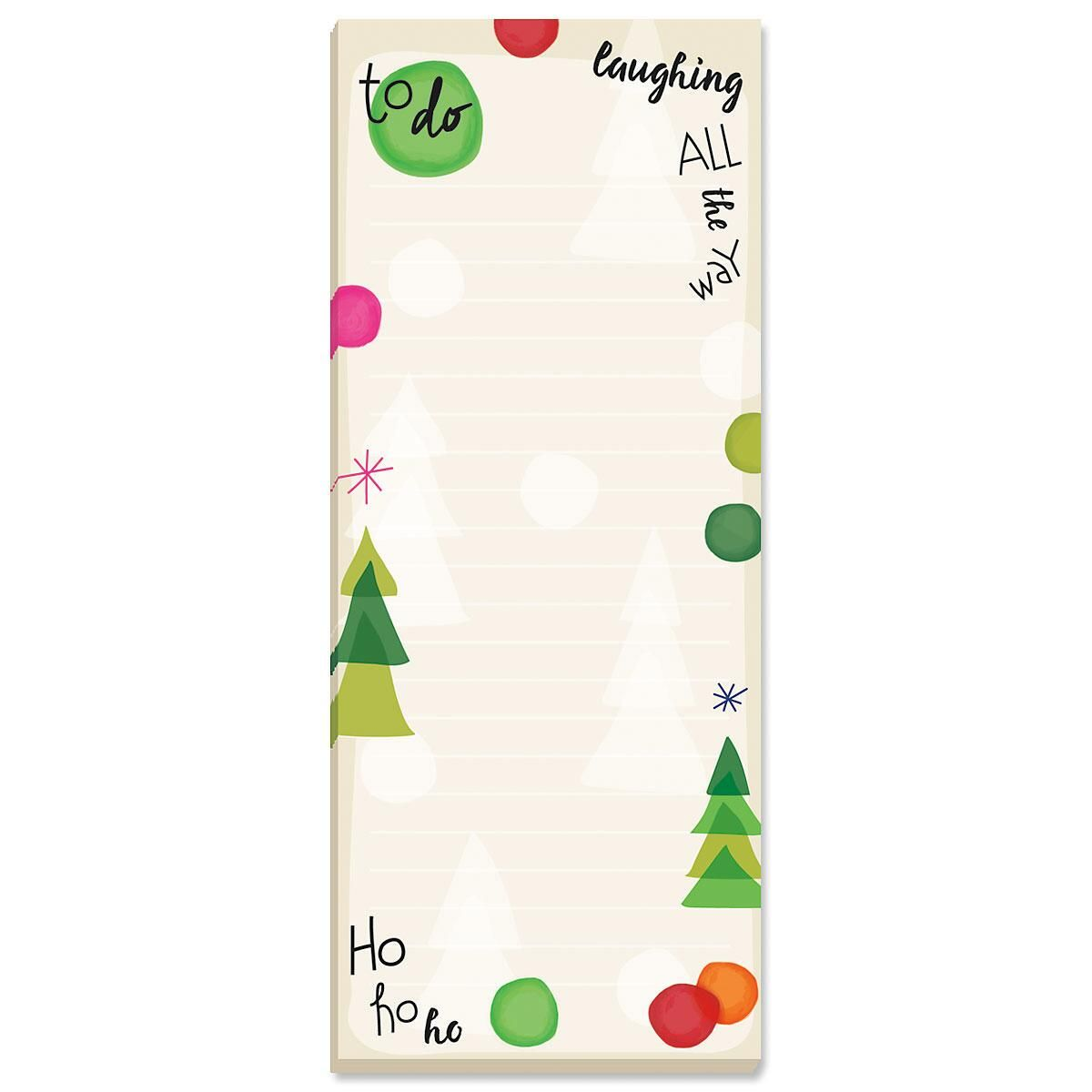 Dots & Trees Shopping List Pads