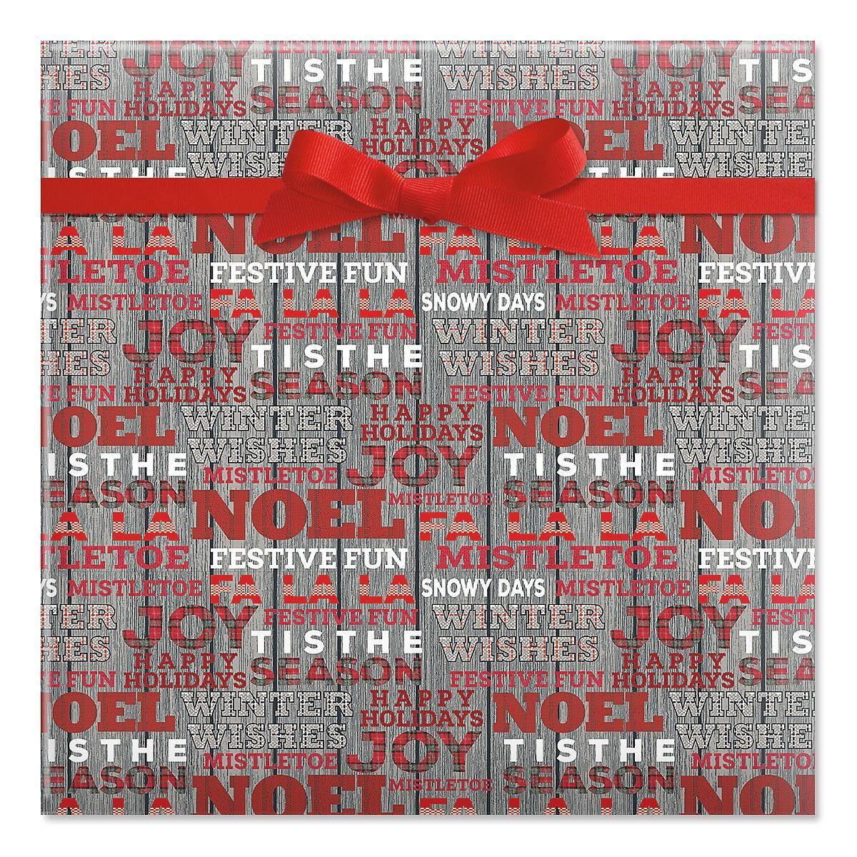 Woven Wishes Jumbo Rolled Gift Wrap