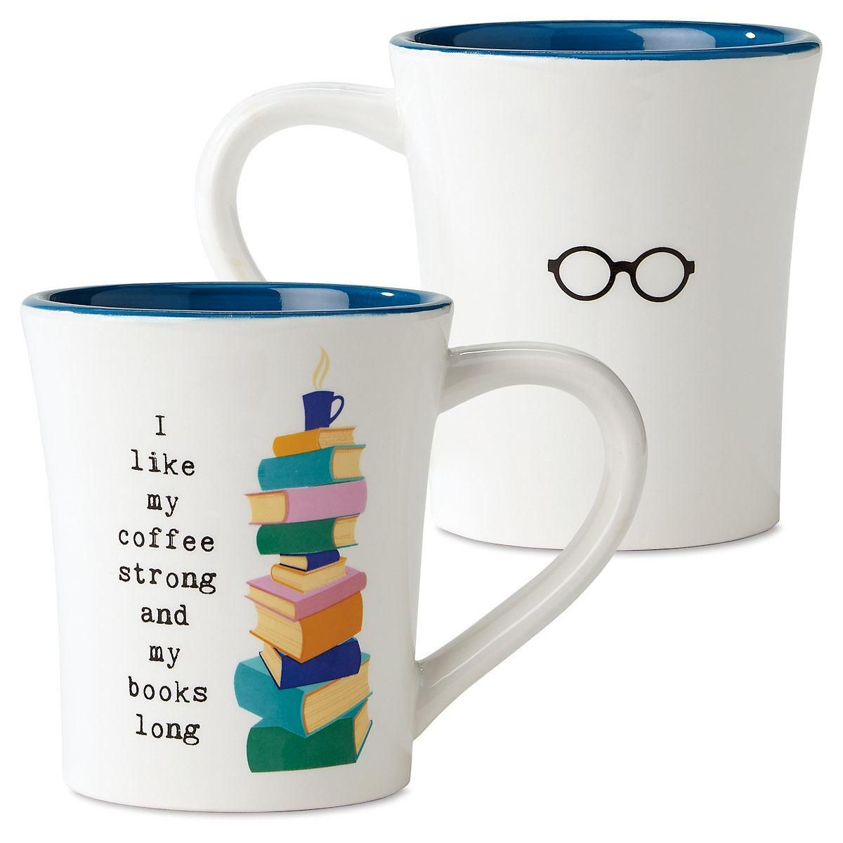 Books Long Book Club Mug Coffee Mugs Shop By Category