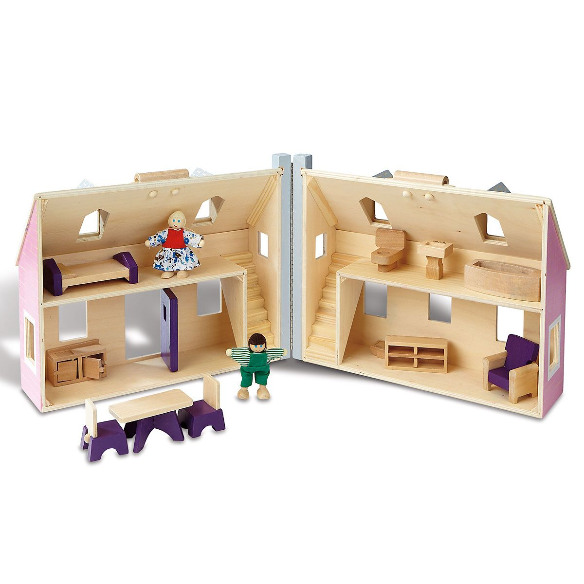 Fold & Go Personalized Dollhouse by Melissa & Doug®