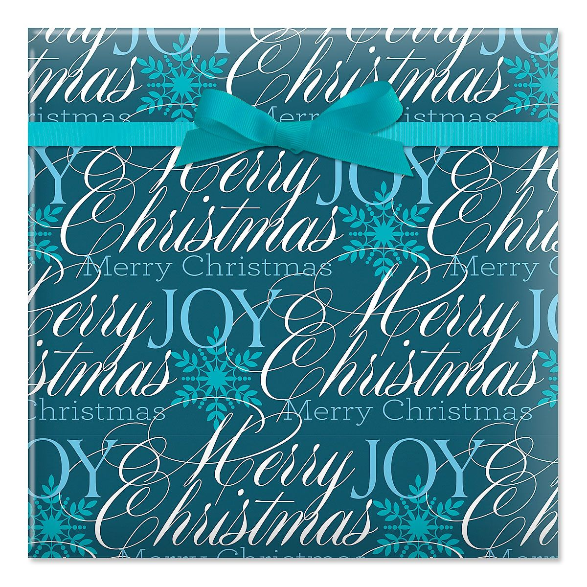 Formal Script Jumbo Rolled Gift Wrap