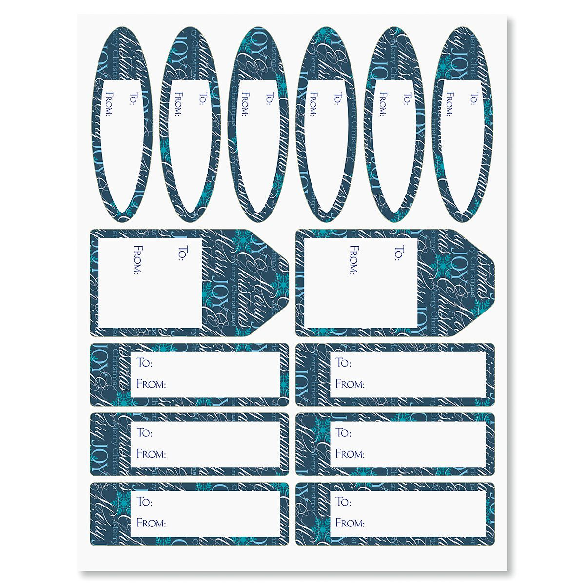 Formal Script Labels