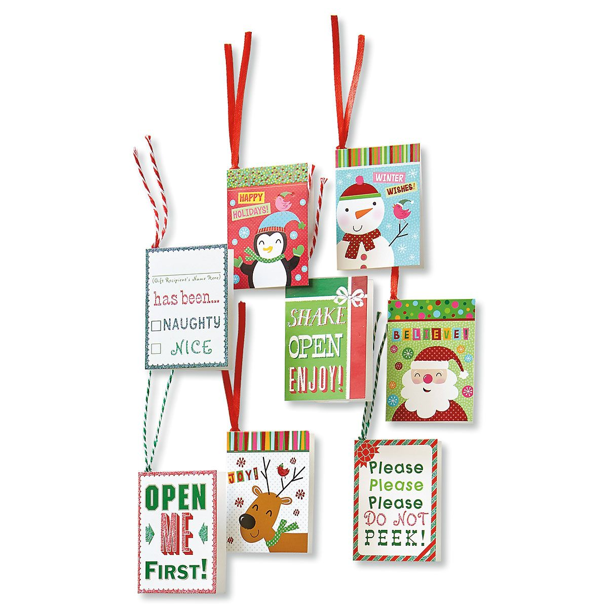 Children's Holiday Gift Tags
