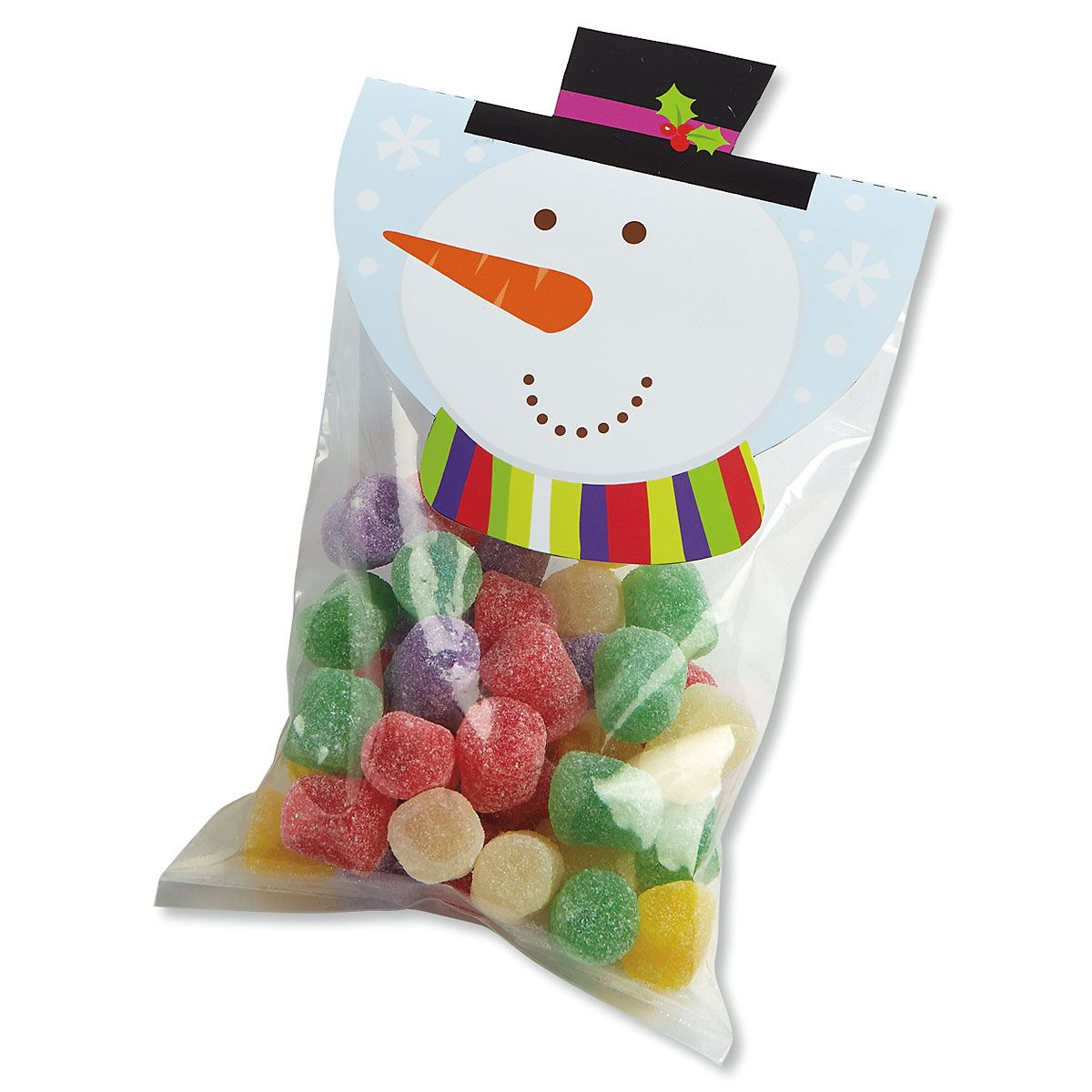 Snowman Treat Bags