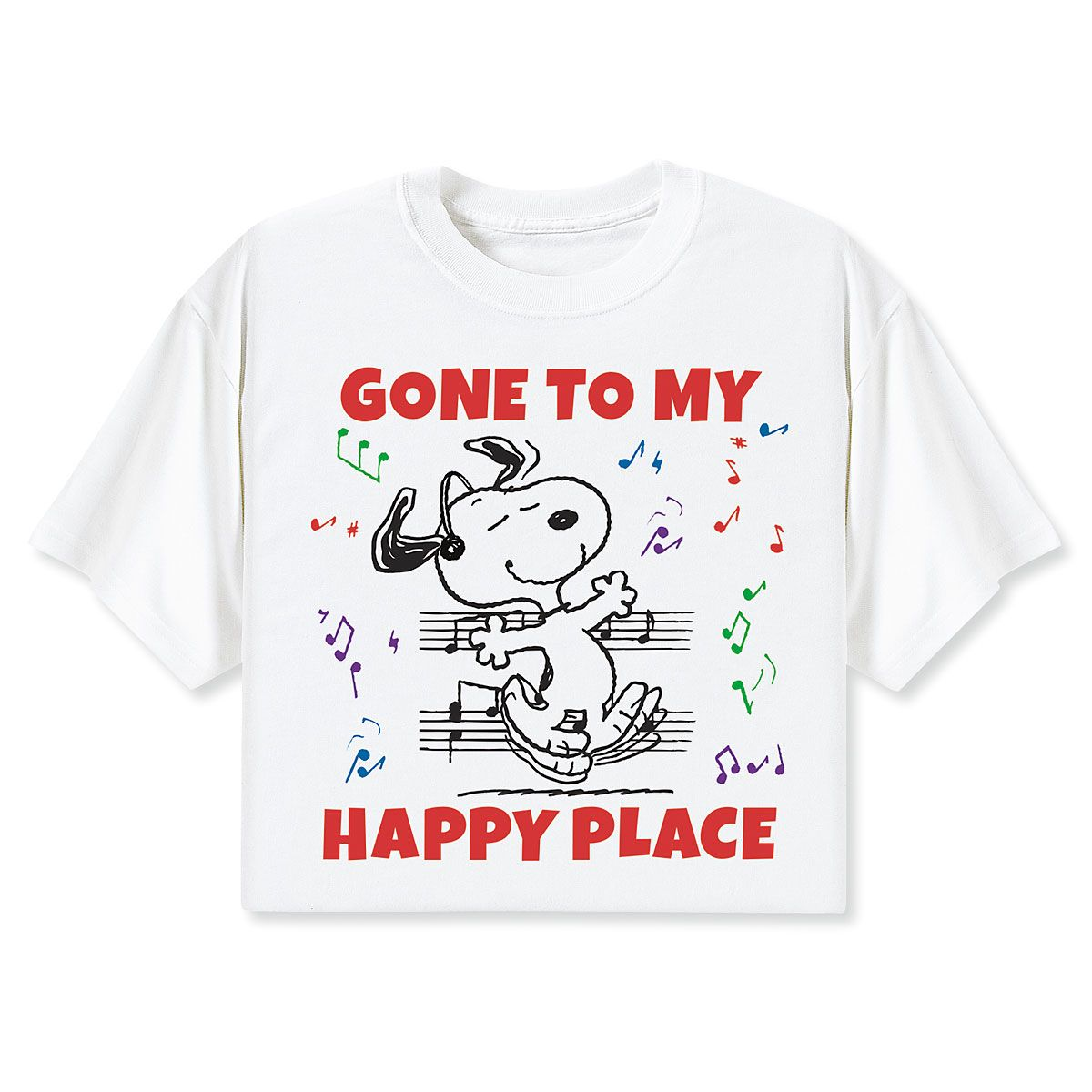 Peanuts® Gone to My Happy Place T-Shirt  - Large