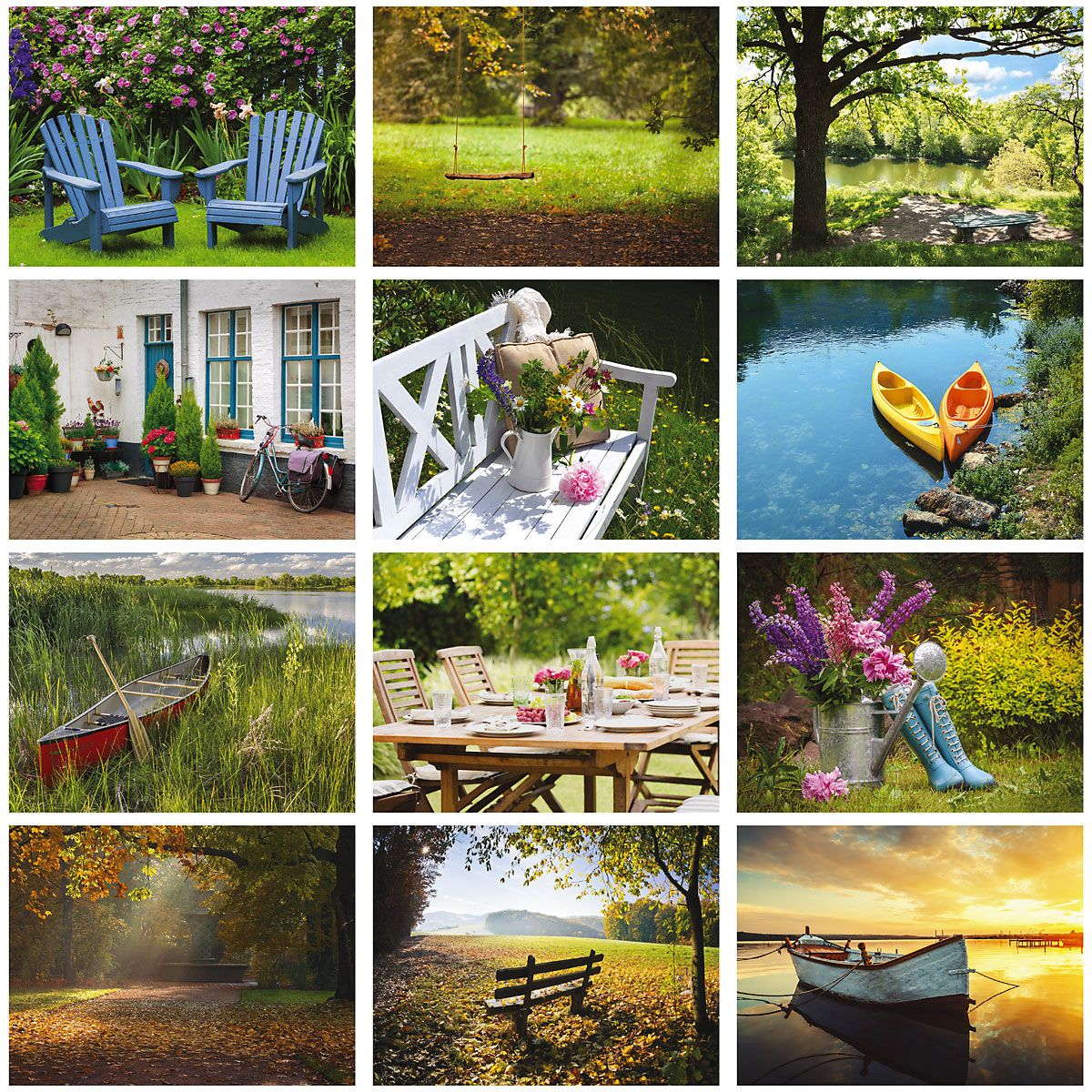 2019 Quiet Moments Wall Calendar