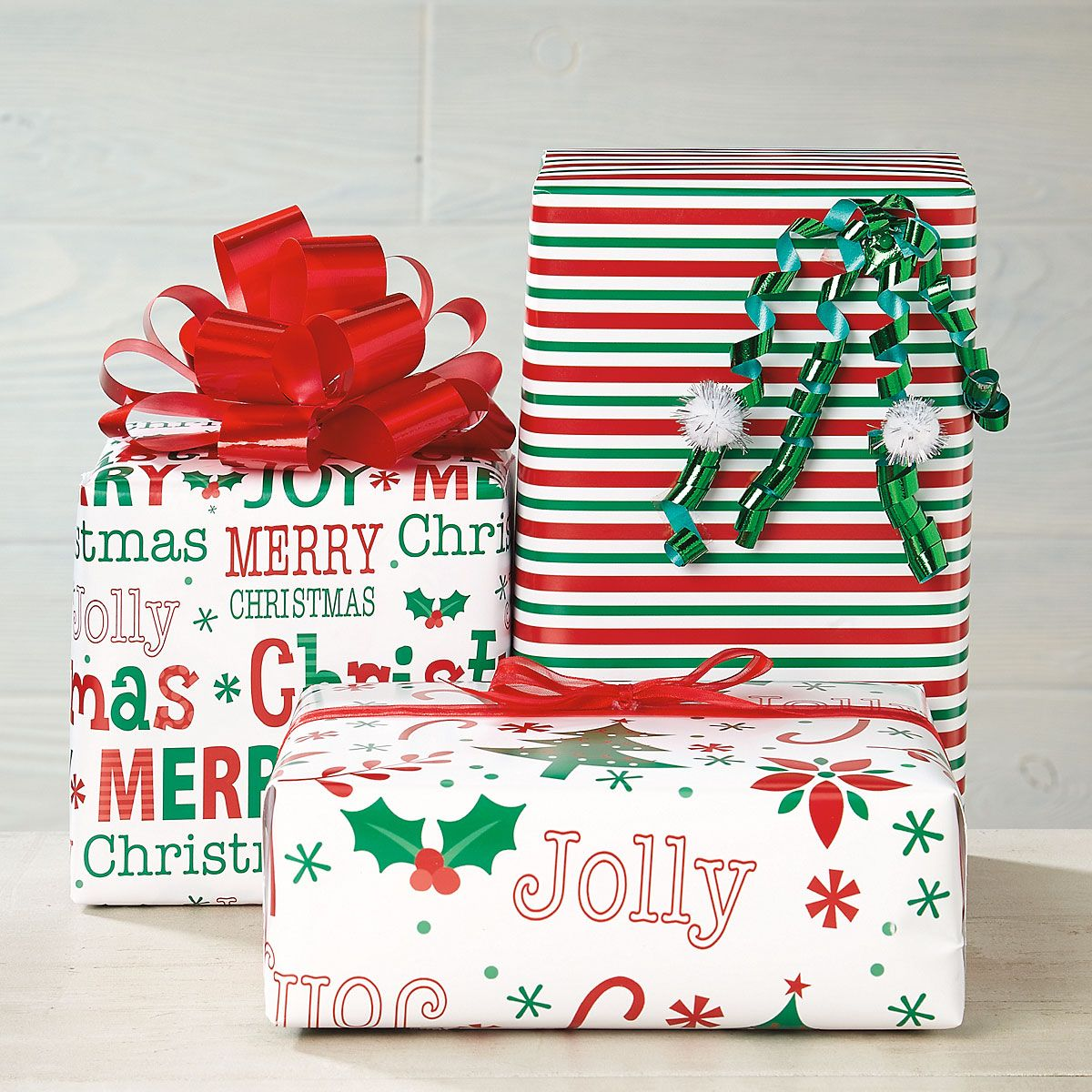 Oh So Merry Flat Gift Wrap Sheets - BOGO