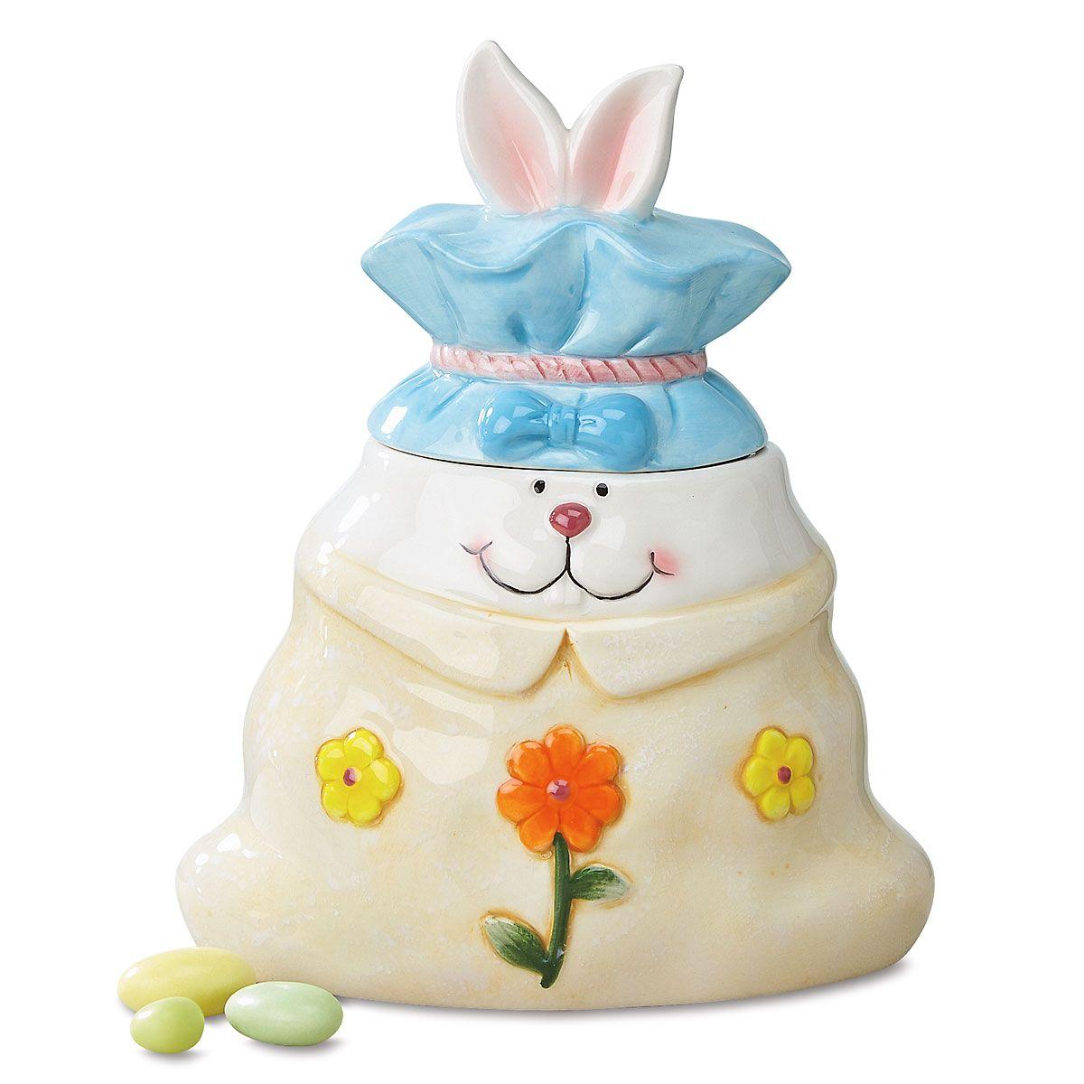 Bunny Bag Candy Jar