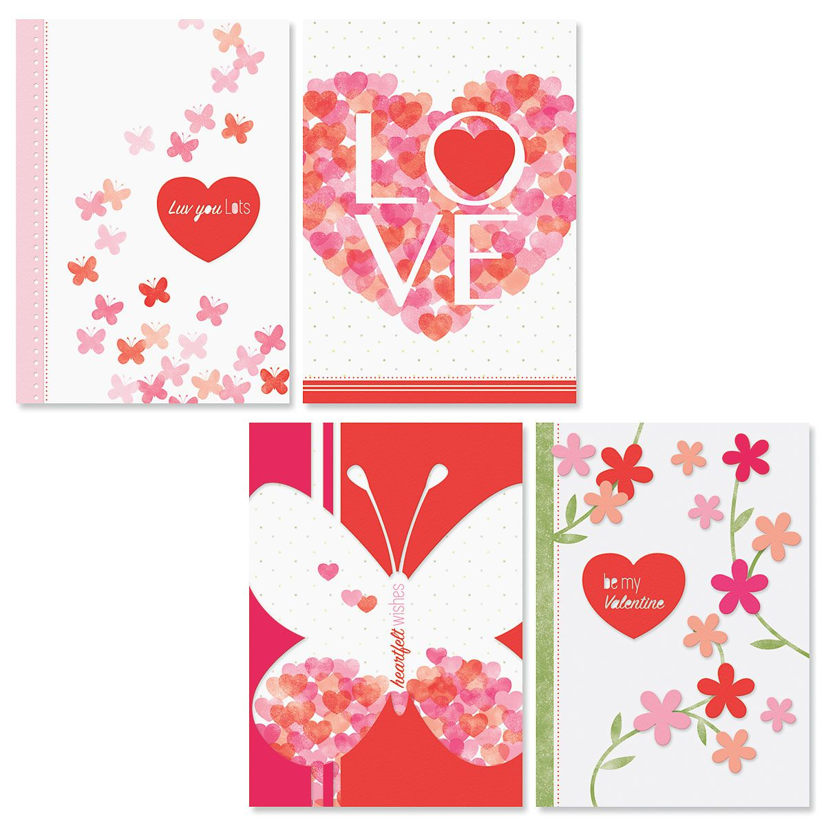 Sweet and Simple Valentine Cards and Seals