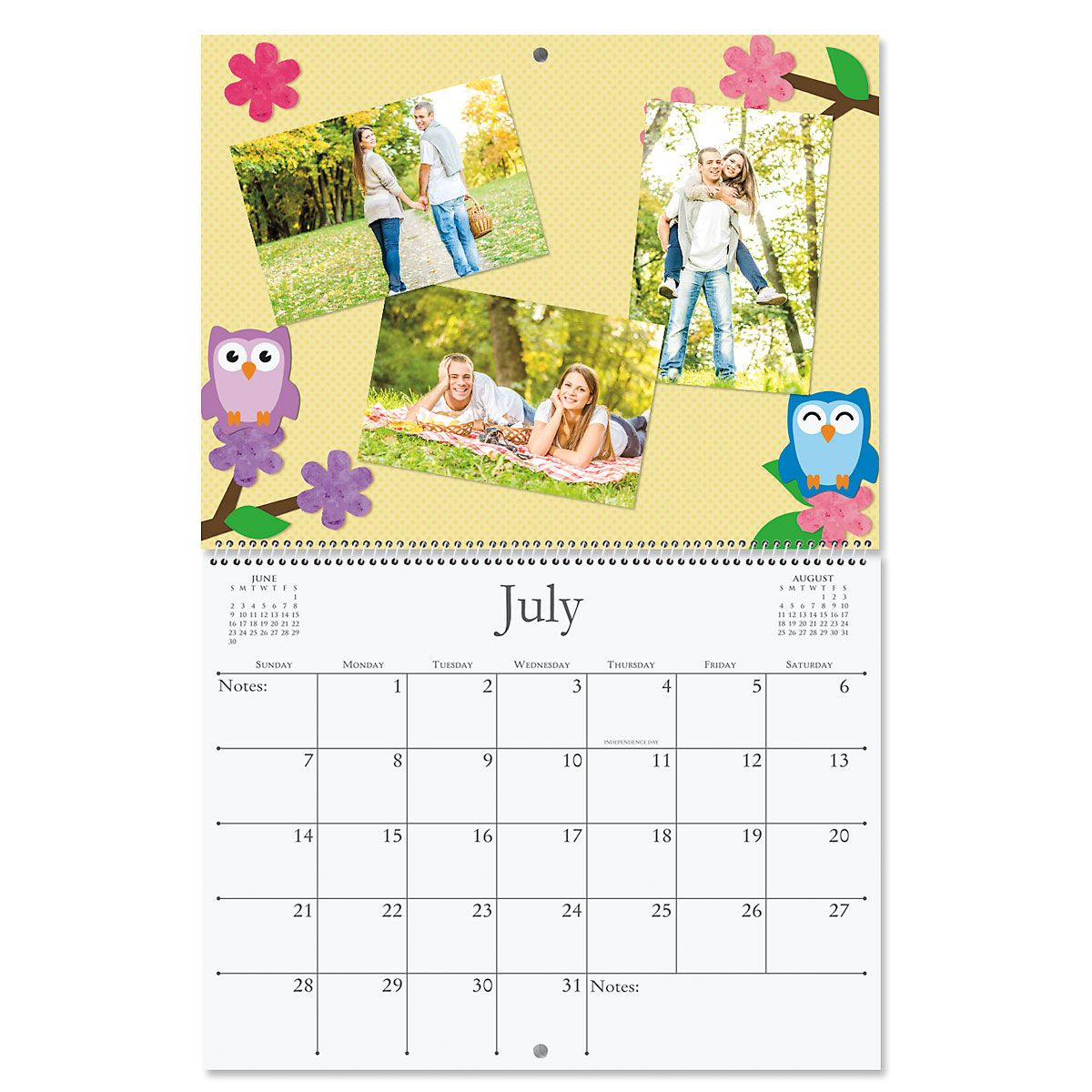 2019 Blank White Pages Crafters' Calendar