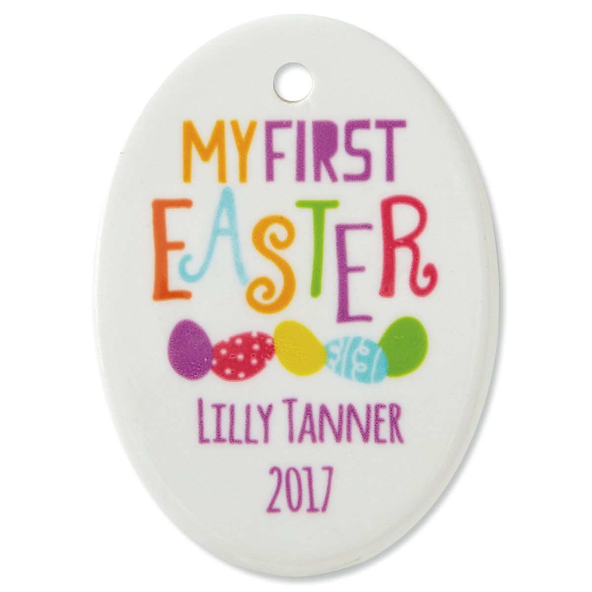 Personalized Baby's First Easter Ornament