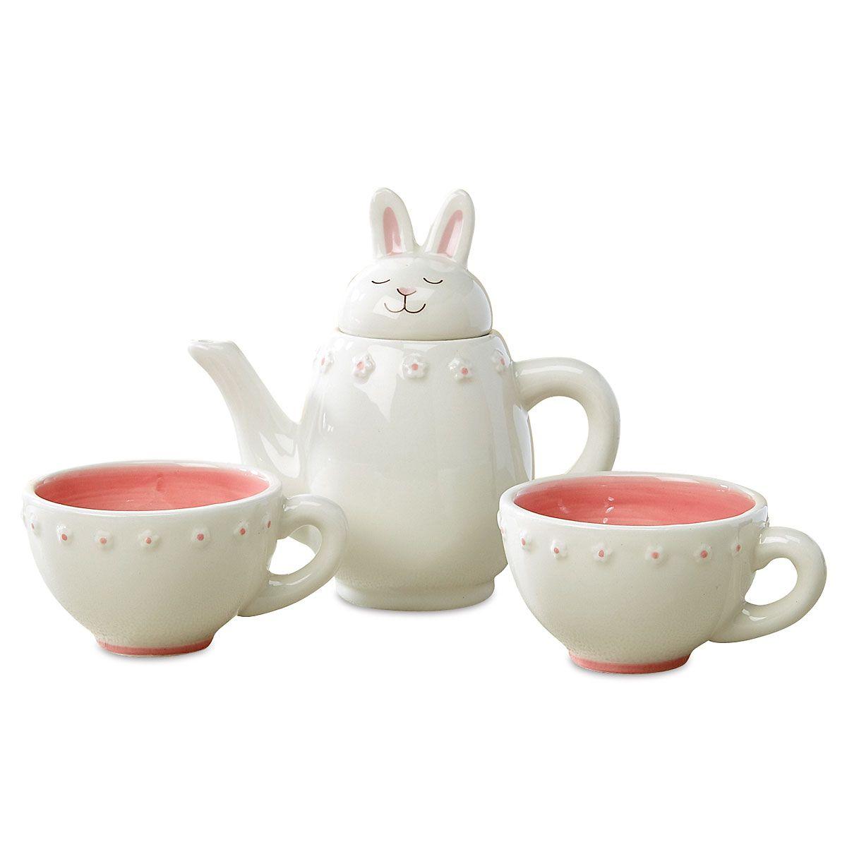 Easter Tea Set