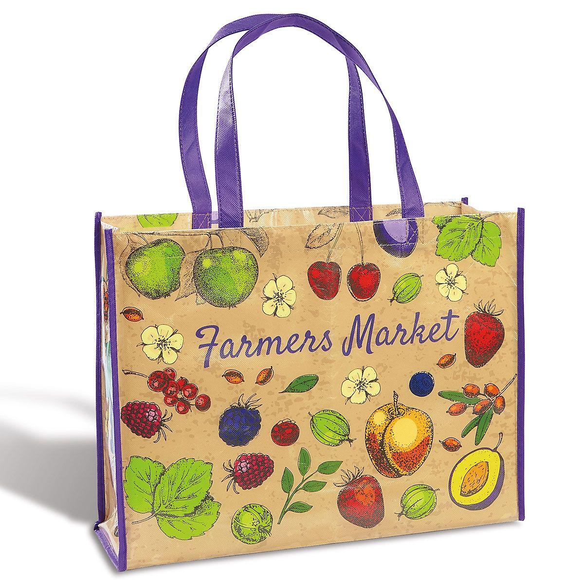 Farmers' Market Tote Bag - BOGO