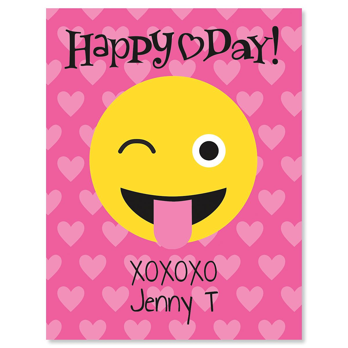 Emoji Personalized Kids' Valentines