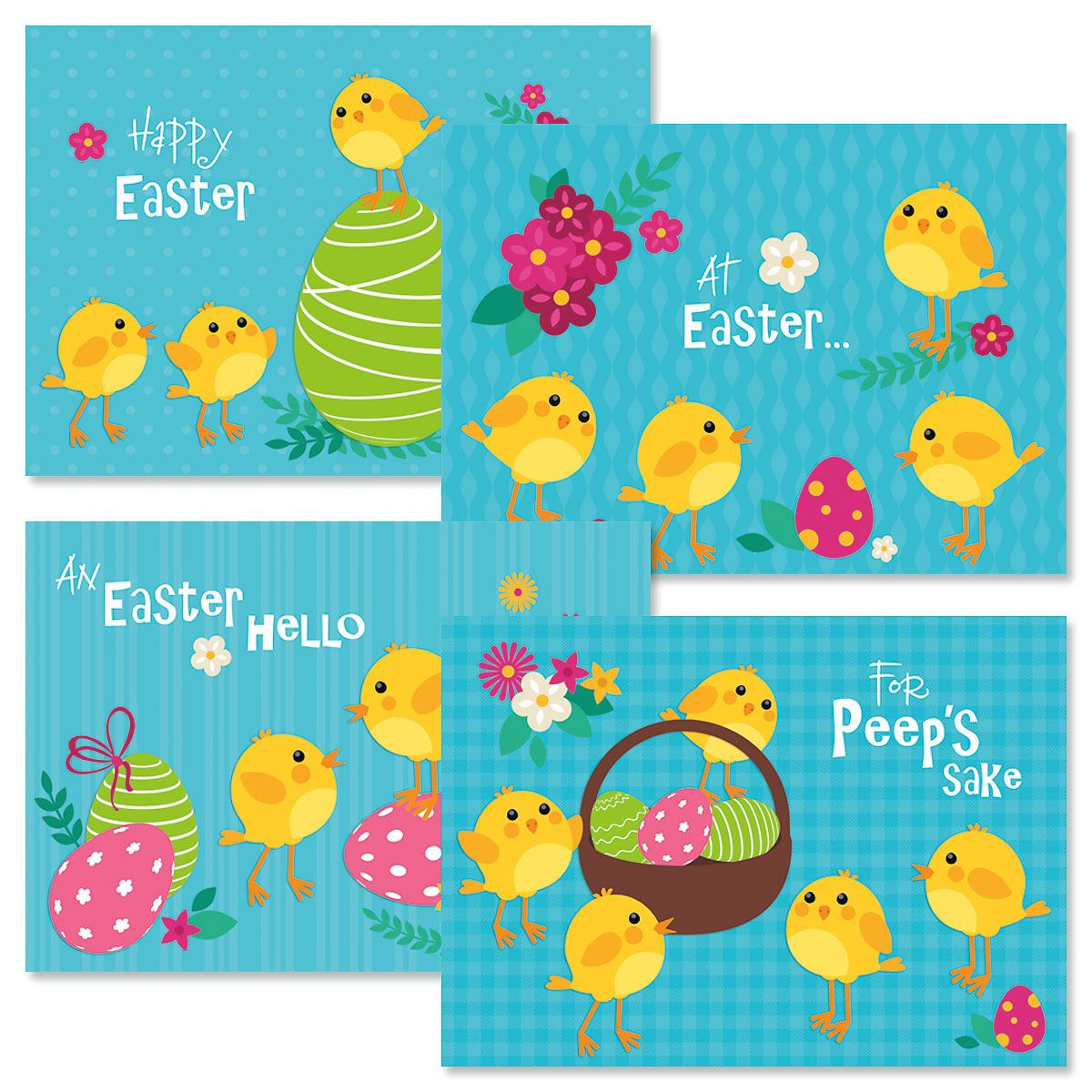 Chicks Easter Cards
