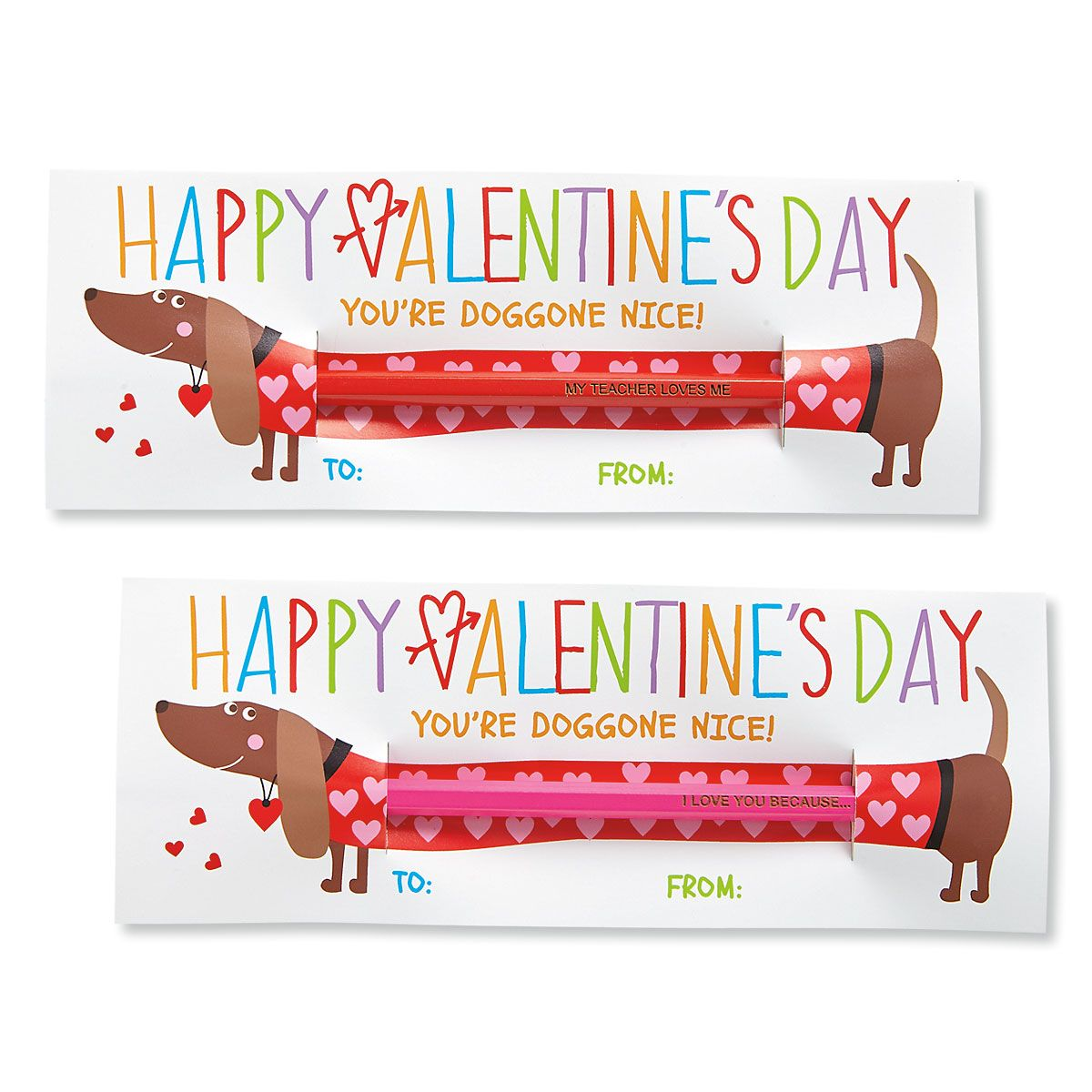 Doggone Nice Kids' Valentines
