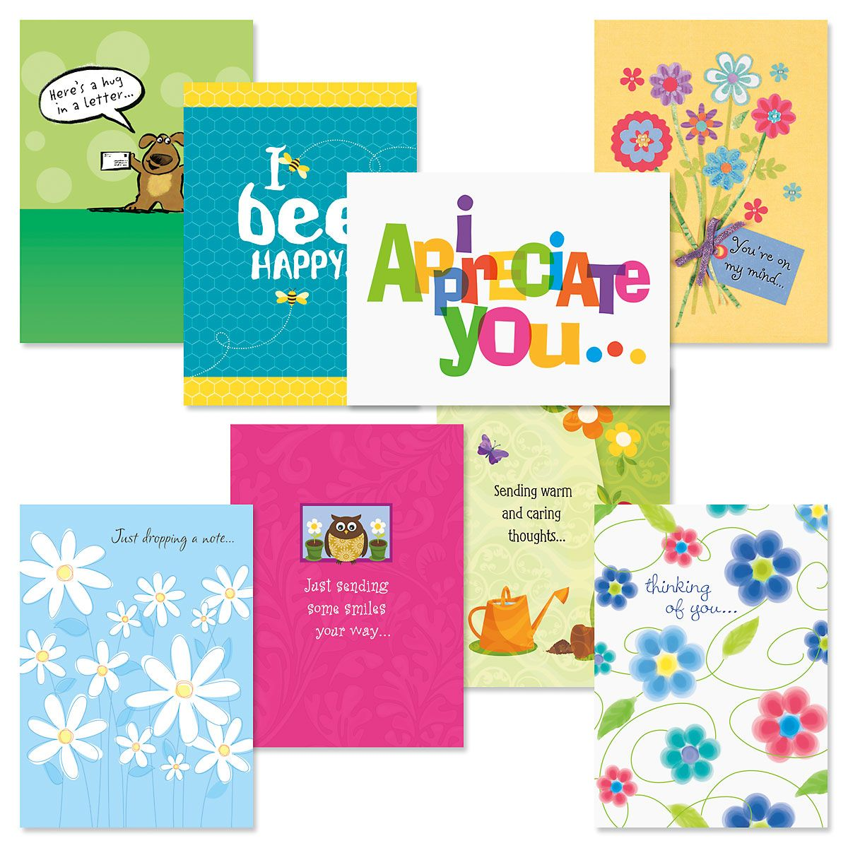 Thinking of You Greeting Cards Value Pack