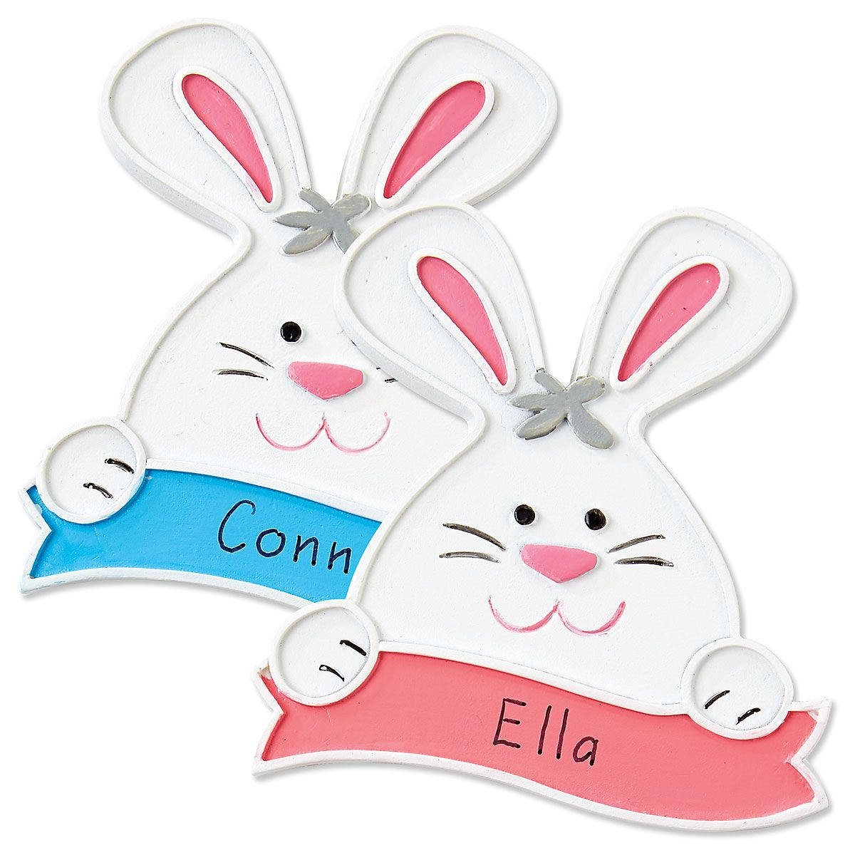Personalized Bunny Magnets