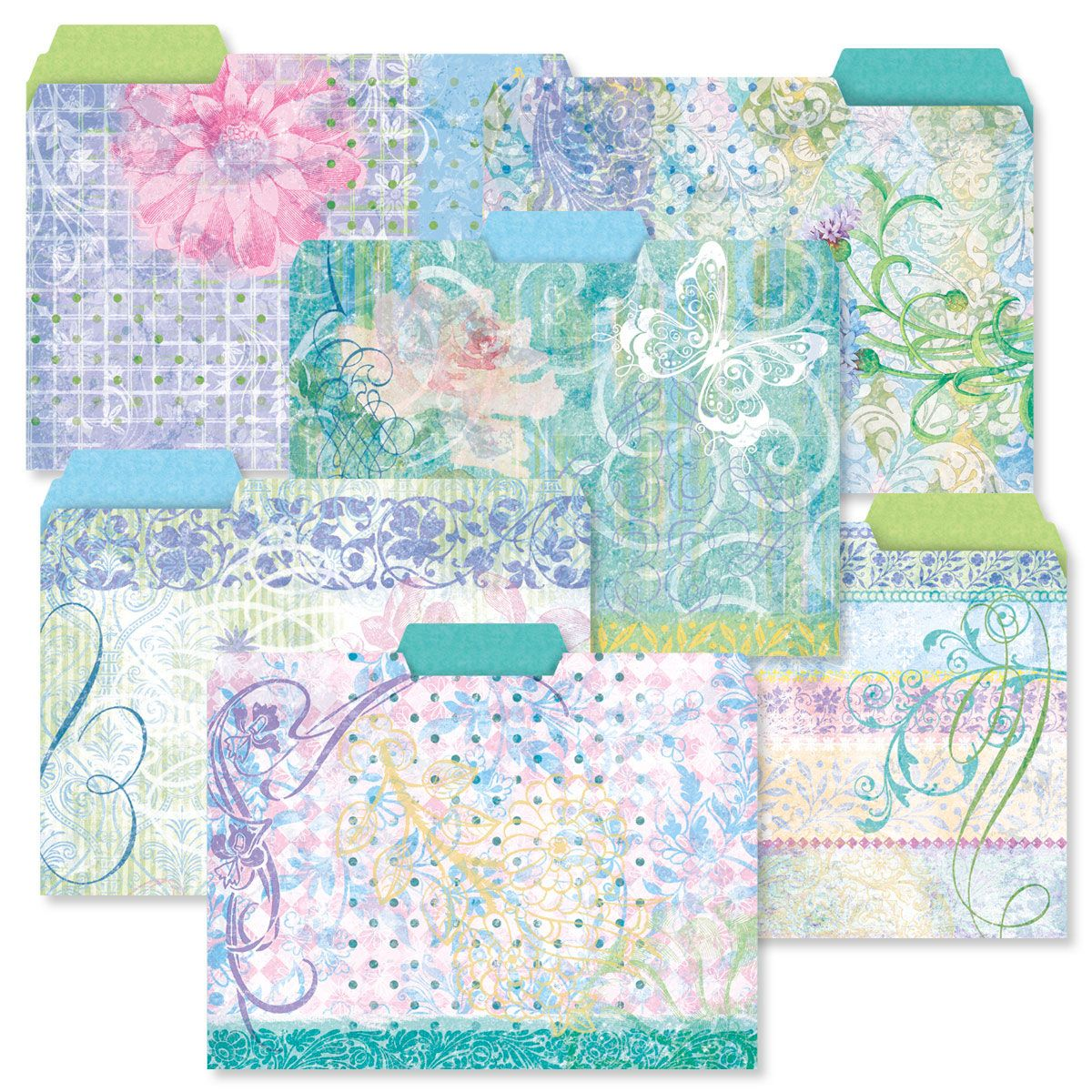 Floral Fun File Folder Value Pack