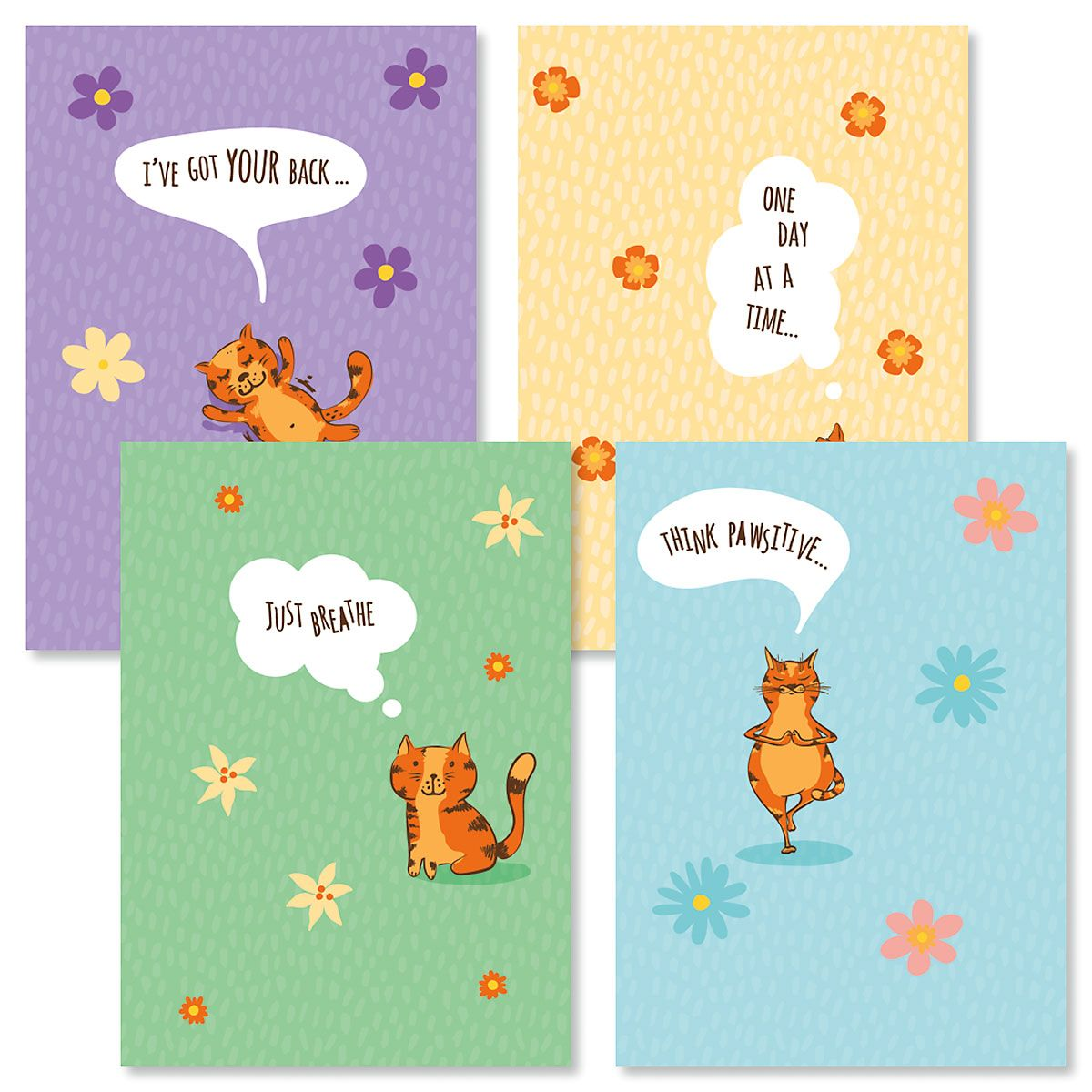 Just Breathe Friendship Cards and Seals