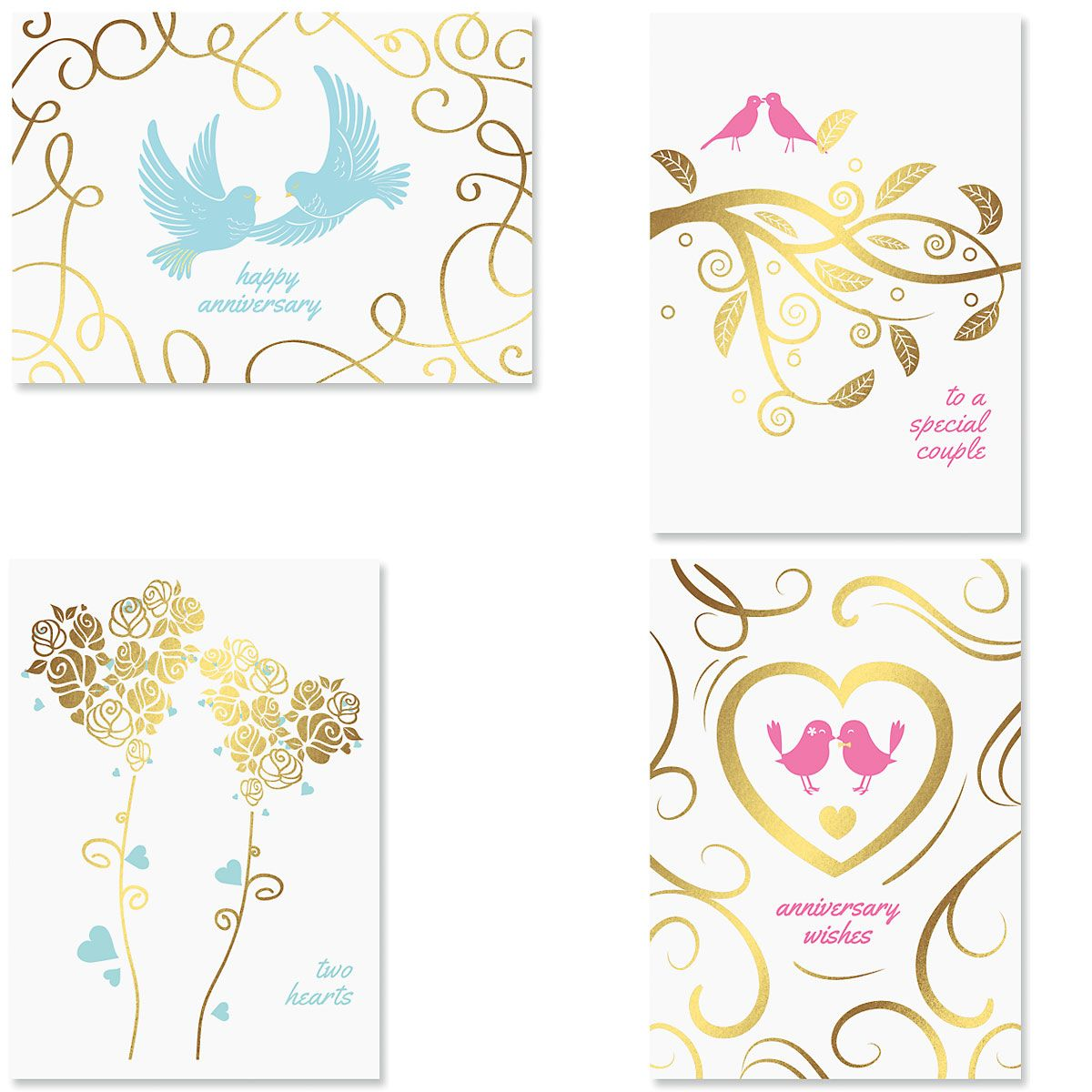 Deluxe Togetherness Anniversary Cards
