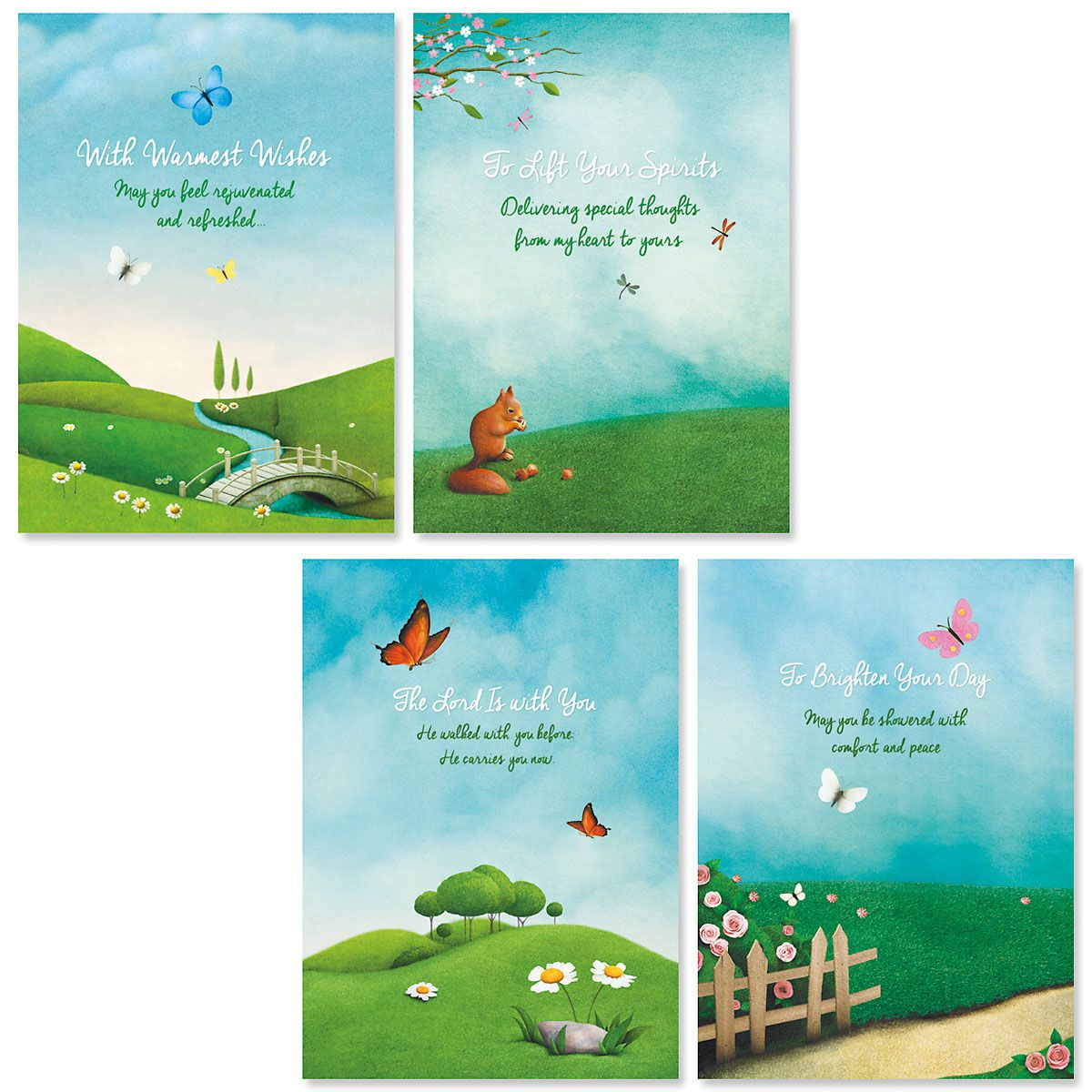 Scenic Concern Friendship Faith Cards
