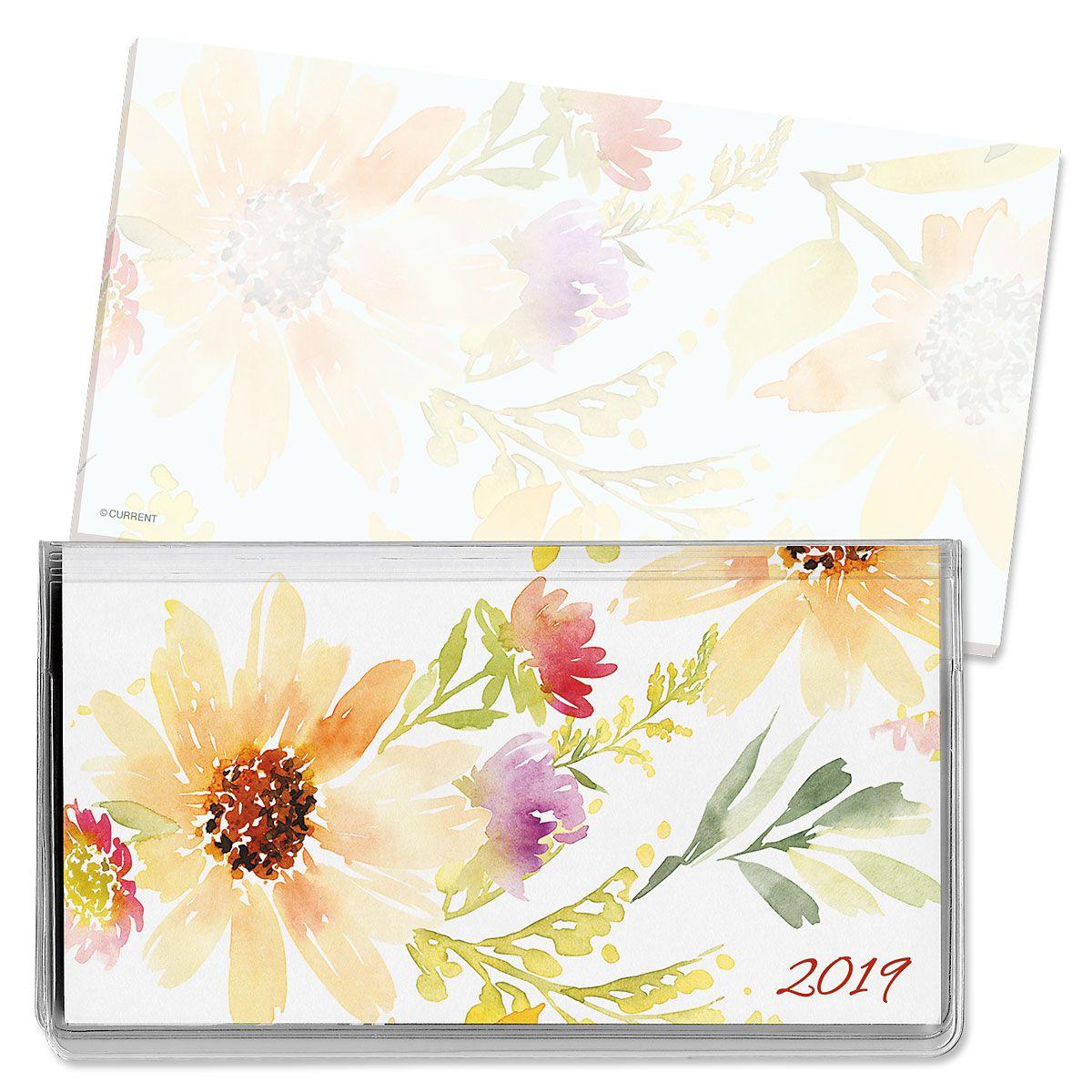 2019 Floral Pocket Calendar
